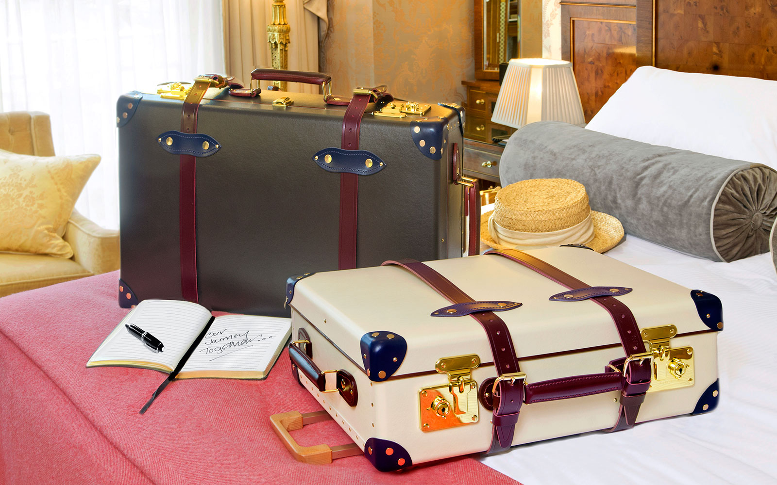 Globe-Trotter's New Luggage Collection is Inspired by The Goring