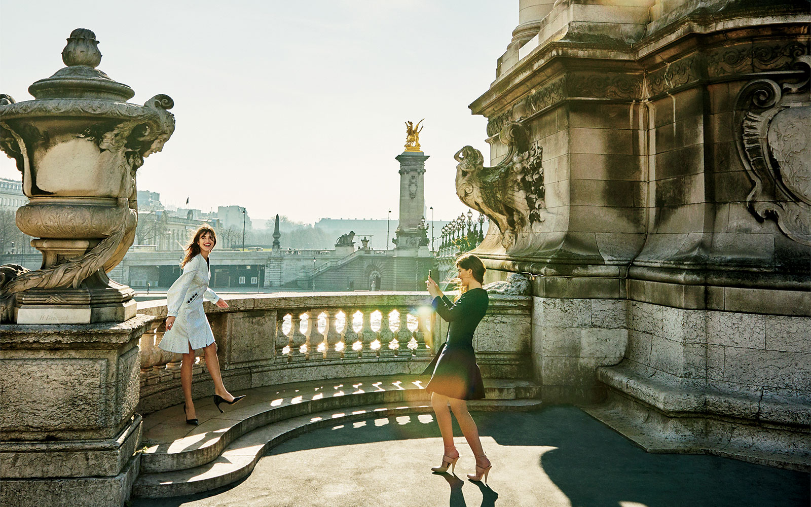 Exploring Paris With It-Girls Jeanne Damas and Marieke Gruyaert