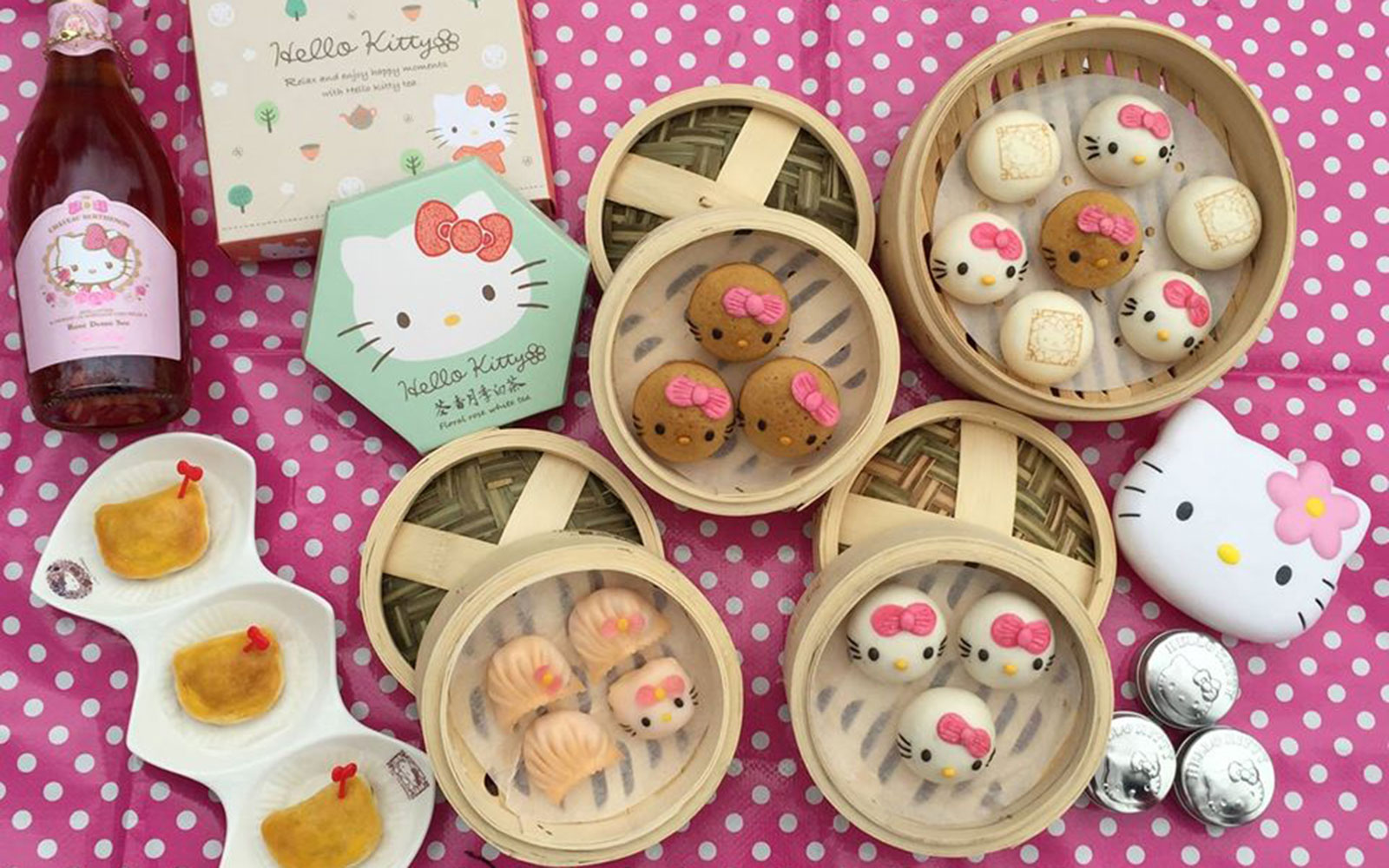 Hello Kitty Chinese Cuisine to Open in Hong Kong in June
