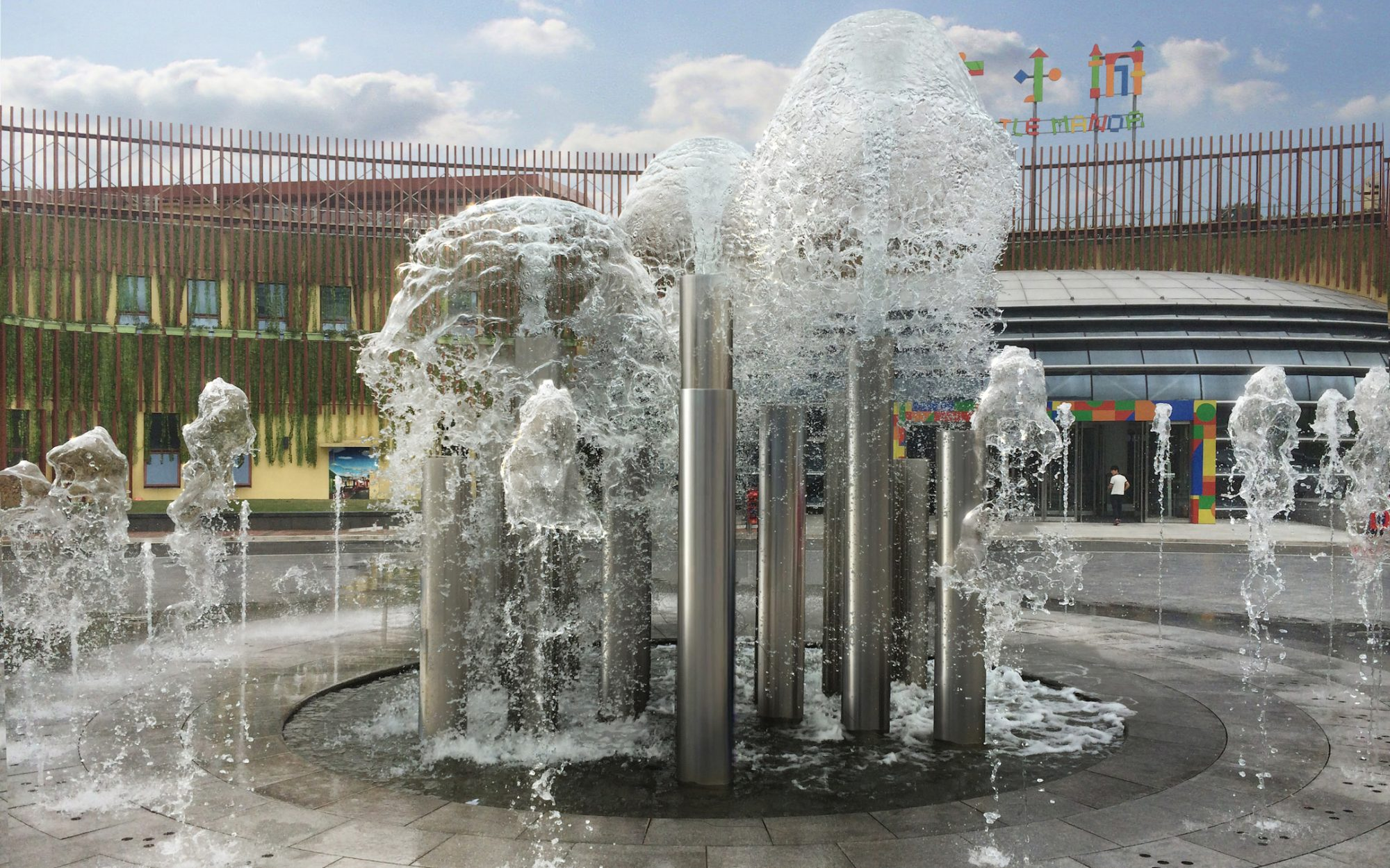 Fountains of Shanghai Daning Project Has Started
