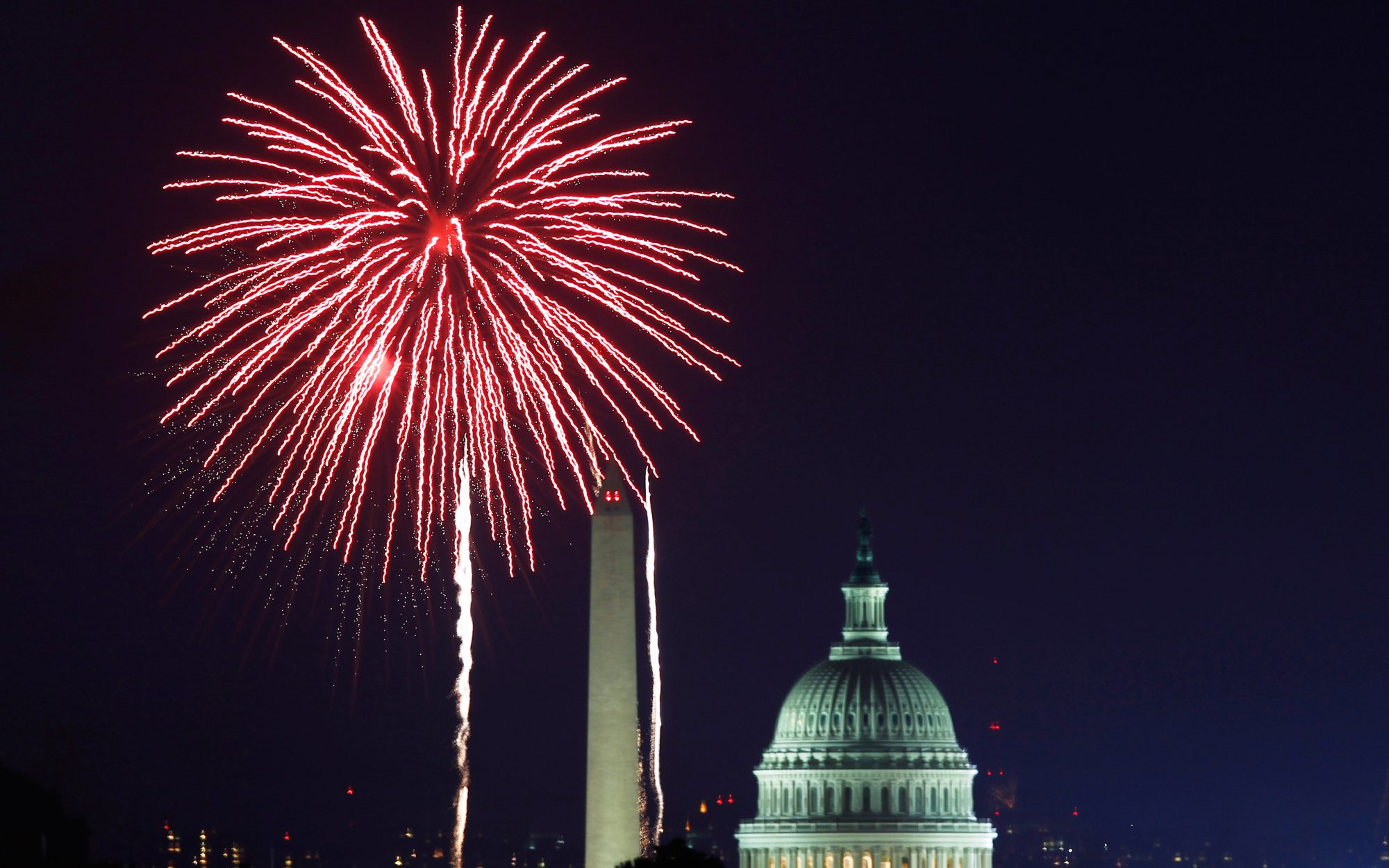 Where to Watch Washington, D.C.'s Fireworks