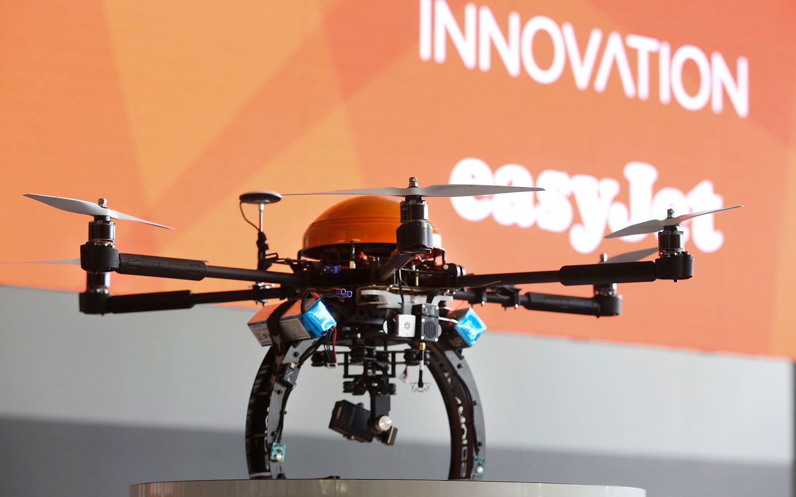EasyJet to Introduce Drones in Airplane Inspections