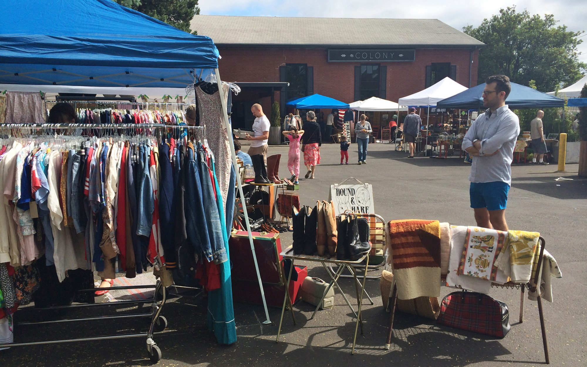 Our Guide to Shopping the Portland Flea