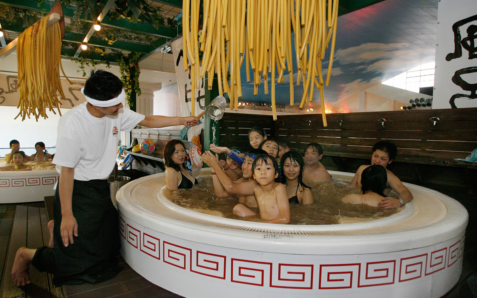 Ramen Baths Spa Treatment