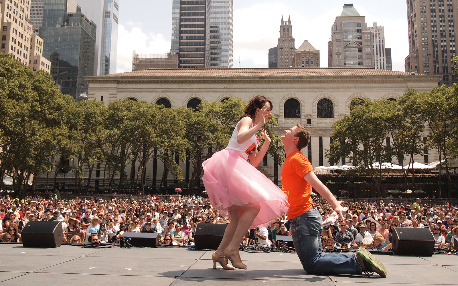 Broadway in Bryant Park Schedule for Summer 2015| Travel + Leisure