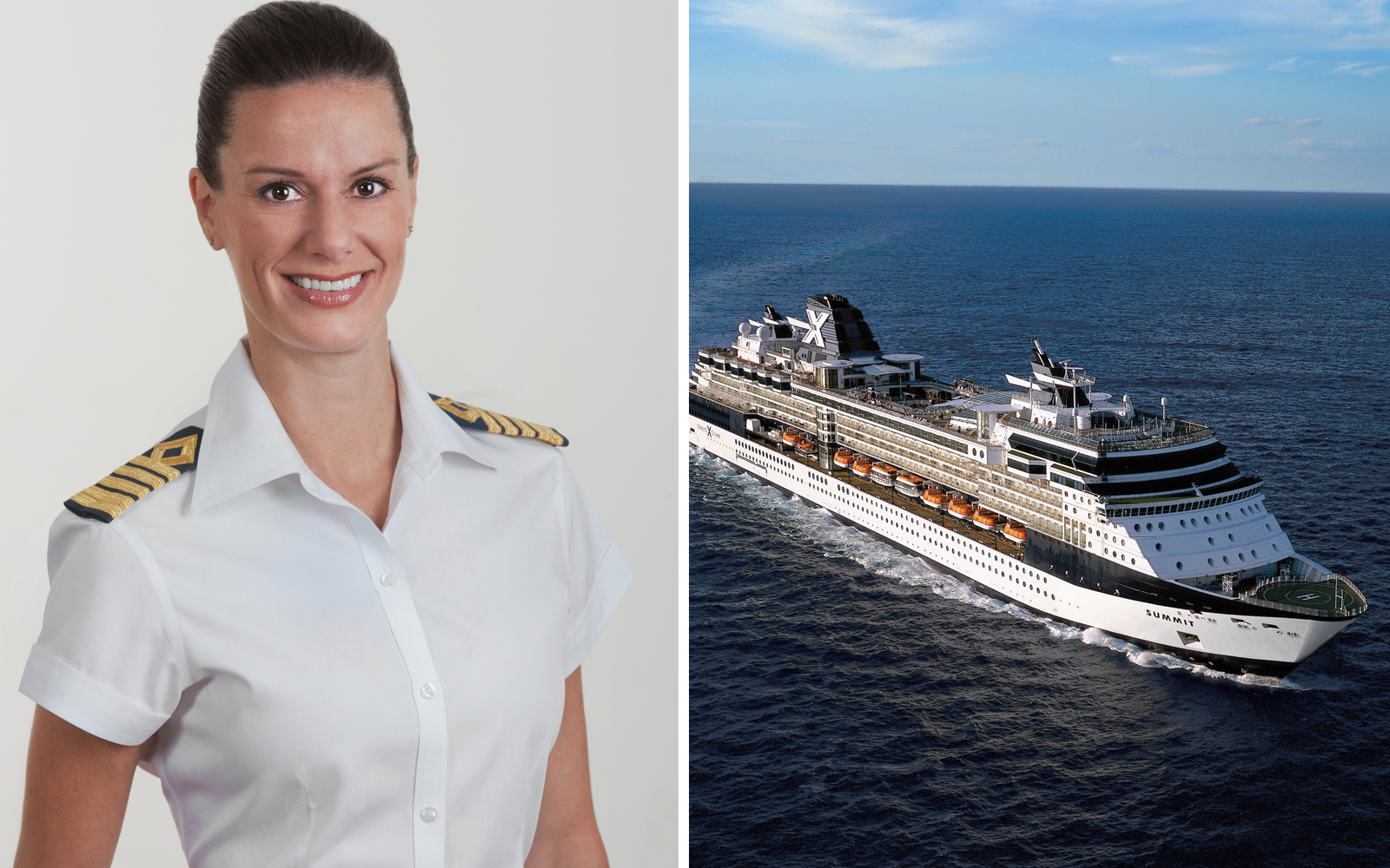 Meet the First American Female Captain: Celebrity Cruises' Kate McCue