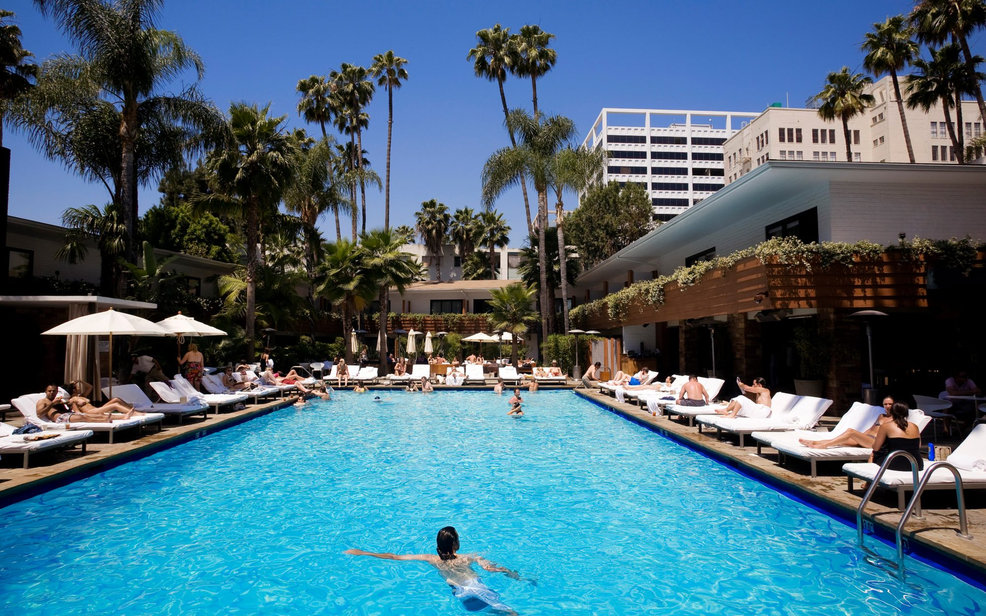 Best Hotel Pools in Los Angeles