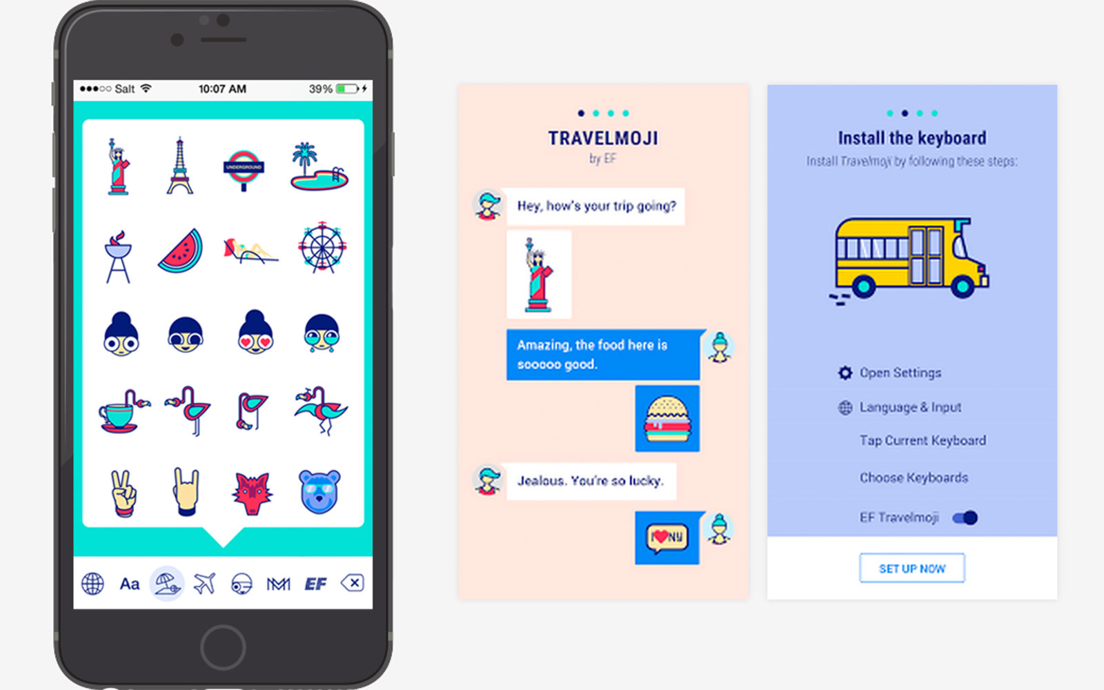 EF Education First Launches New Travel Emoji Keyboard