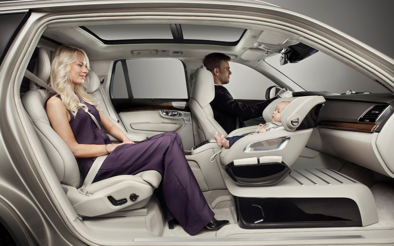 Volvo's New Child Seat Design