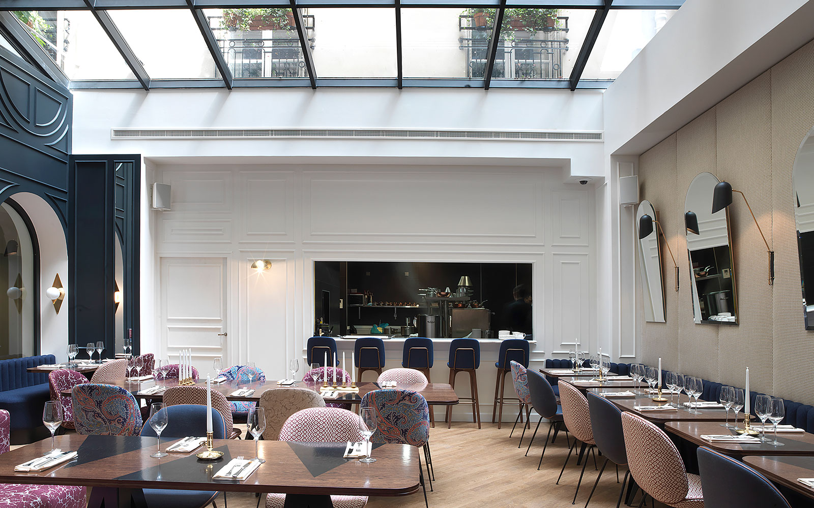 Hotel Bachaumont, Paris, Refreshes Dining in 2nd Arrondissement