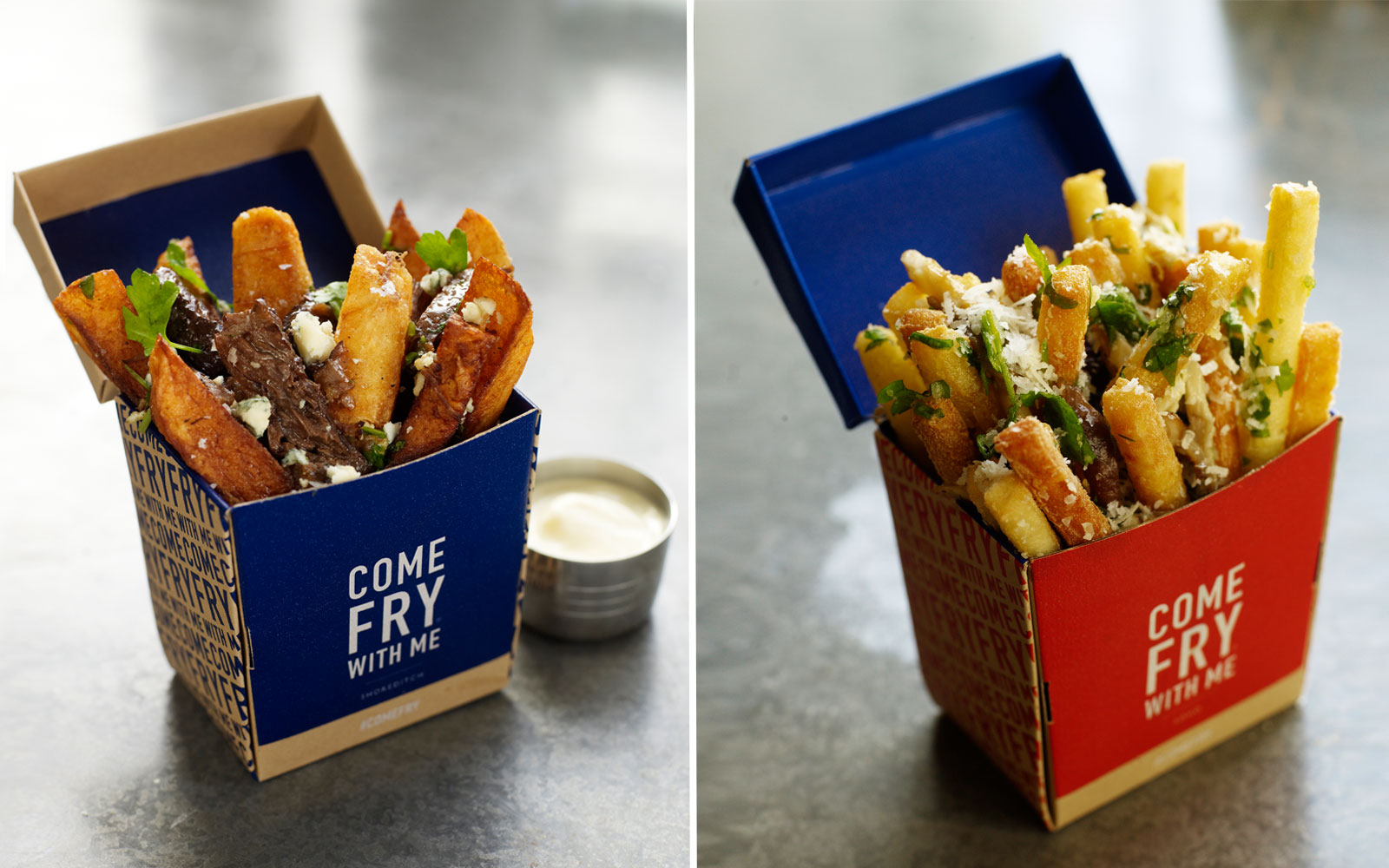 London's New French Fry Restaurant