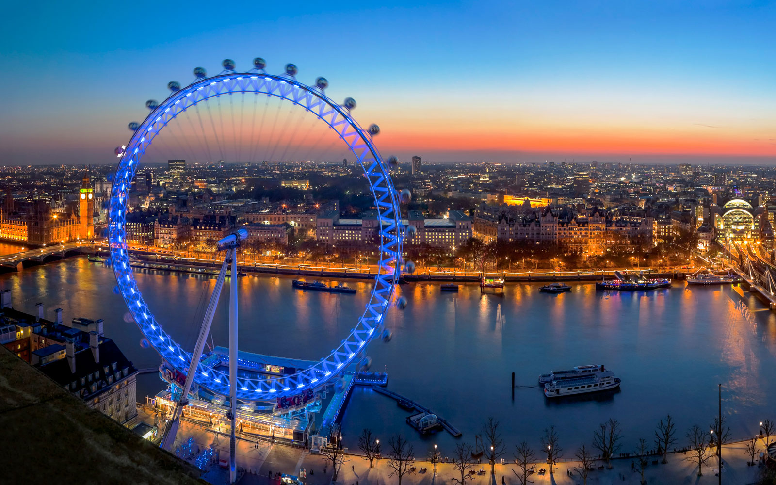 The Coca-Cola London Eye Turns 15