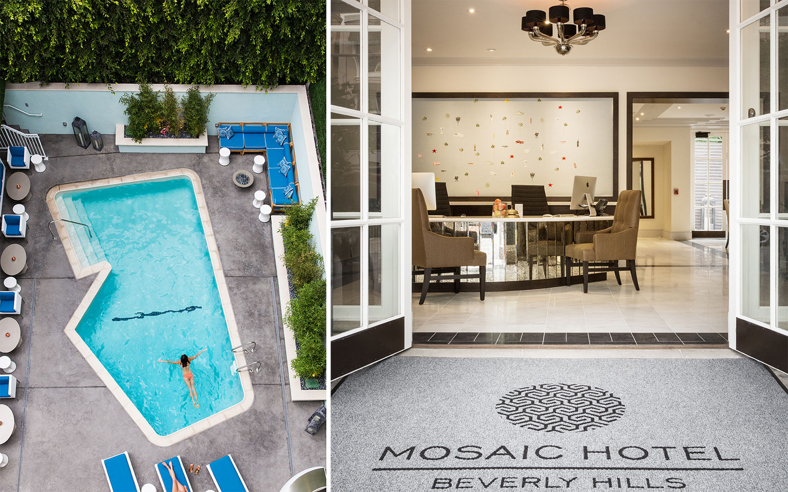 Beverly Hills's Mosaic Hotel Completes Renovation