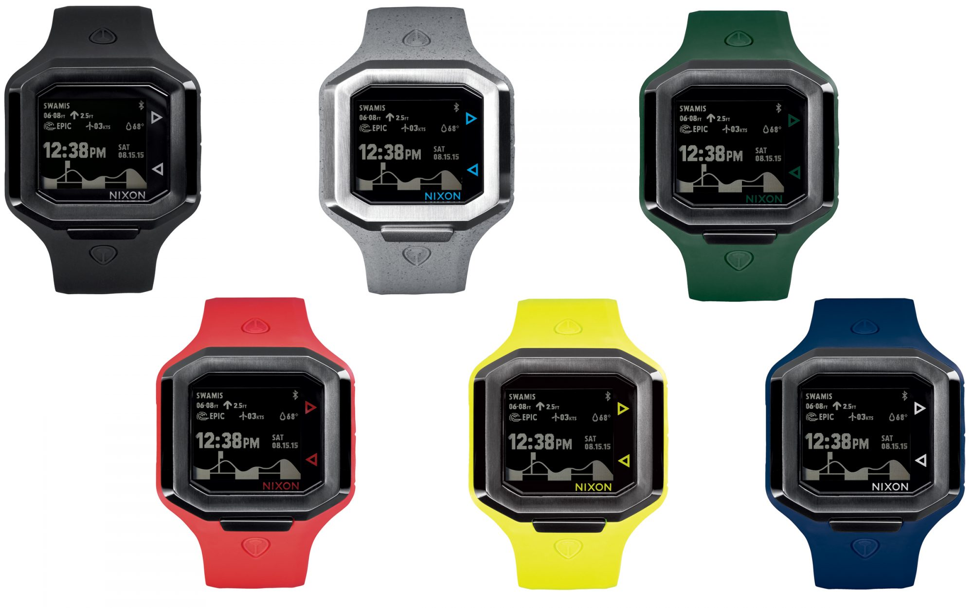 Ultratide Smart Watch is a Surfer's Best Friend