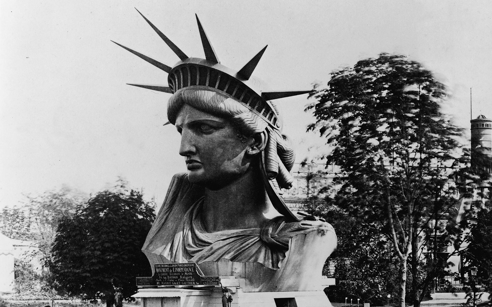 Photos: Statue of Liberty Construction in the 1800s