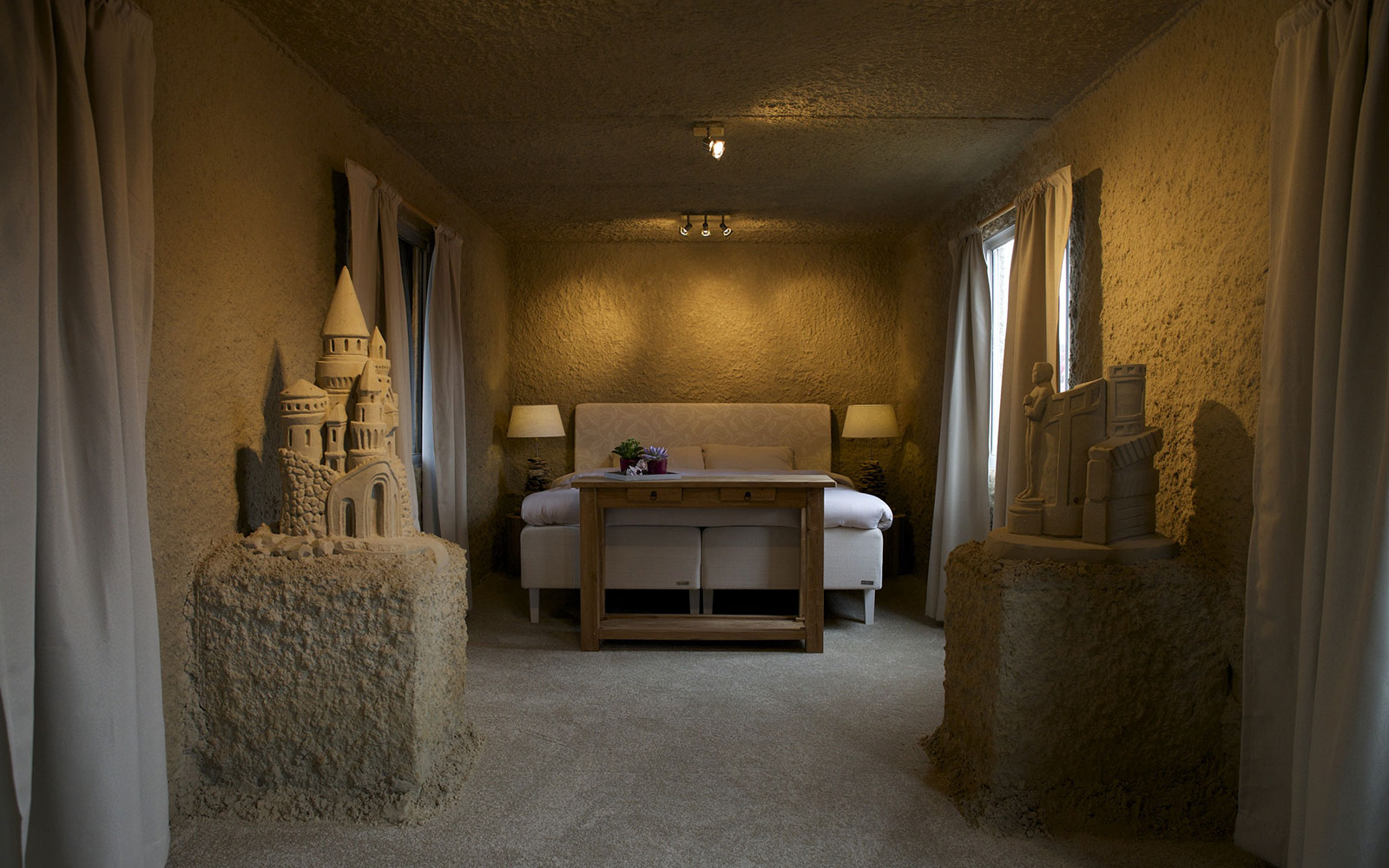 Stay in a Sand Castle Hotel
