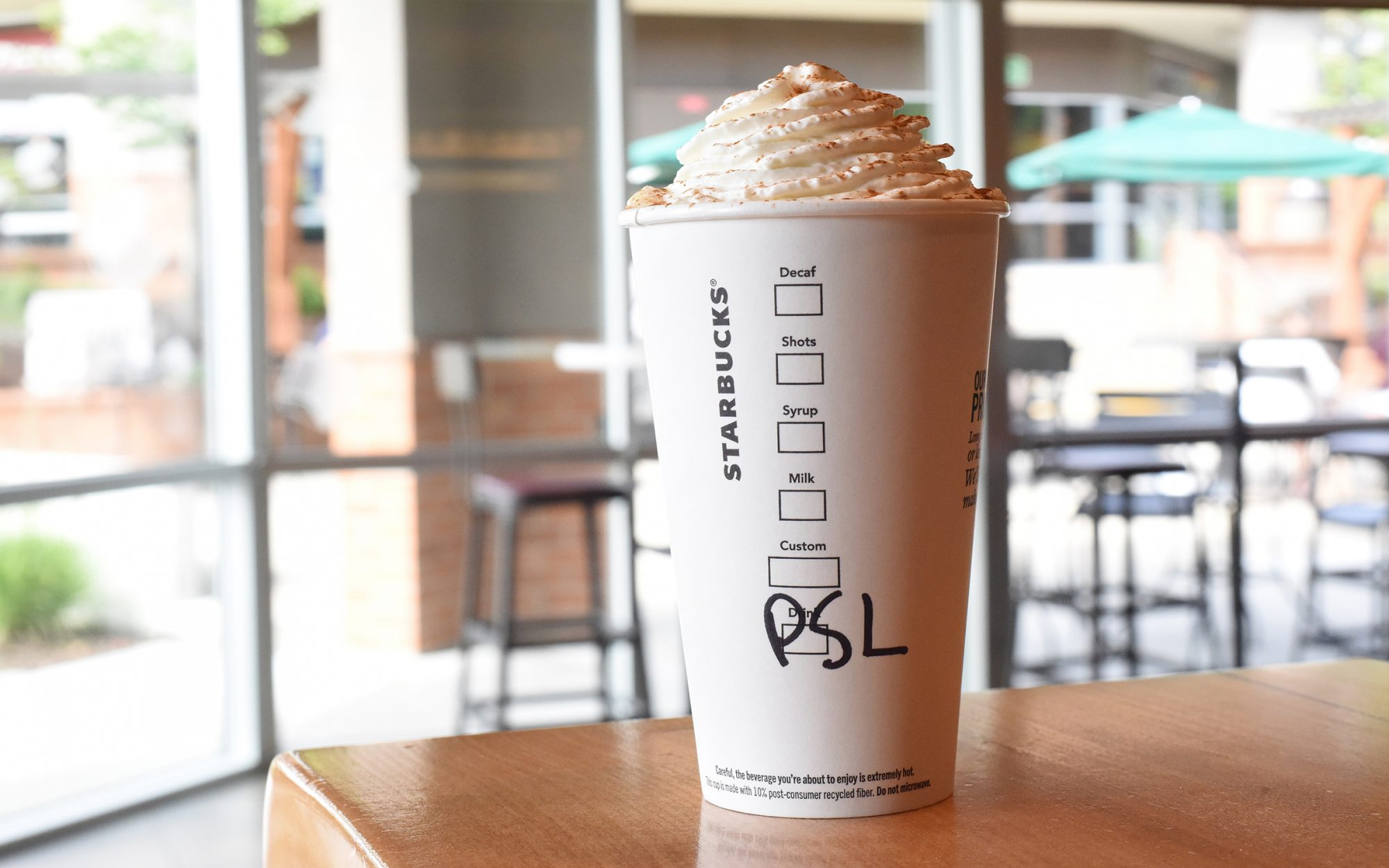 Starbucks Pumpkin Spice Latte Price in 17 Cities