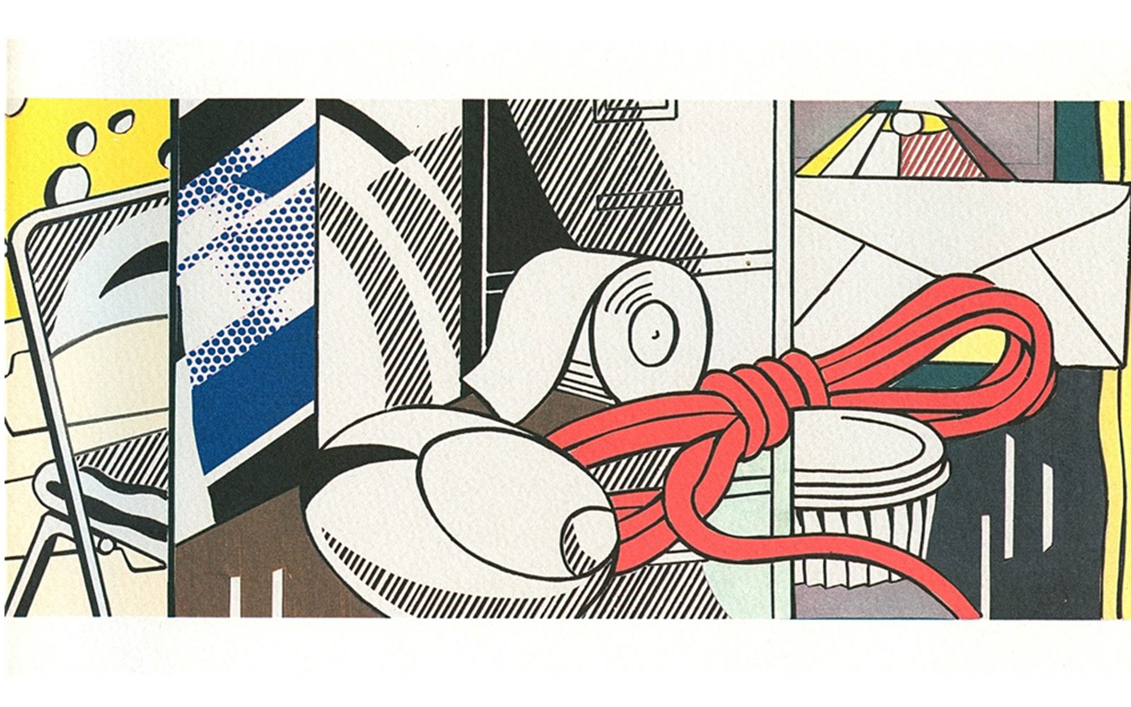 See Roy Lichtenstein's Green Street Mural Before It's Destroyed Again
