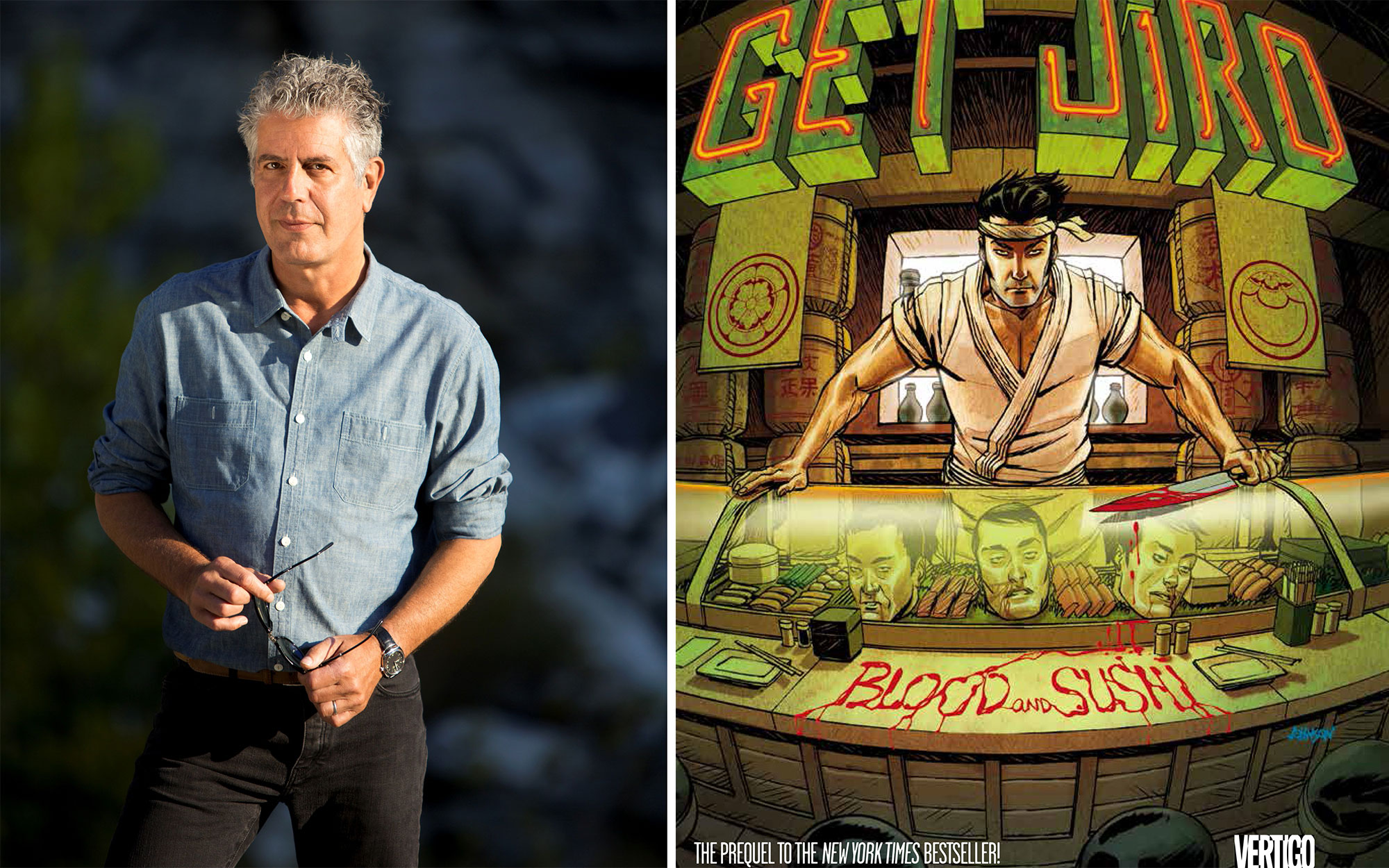 Anthony Bourdain Book Debuts