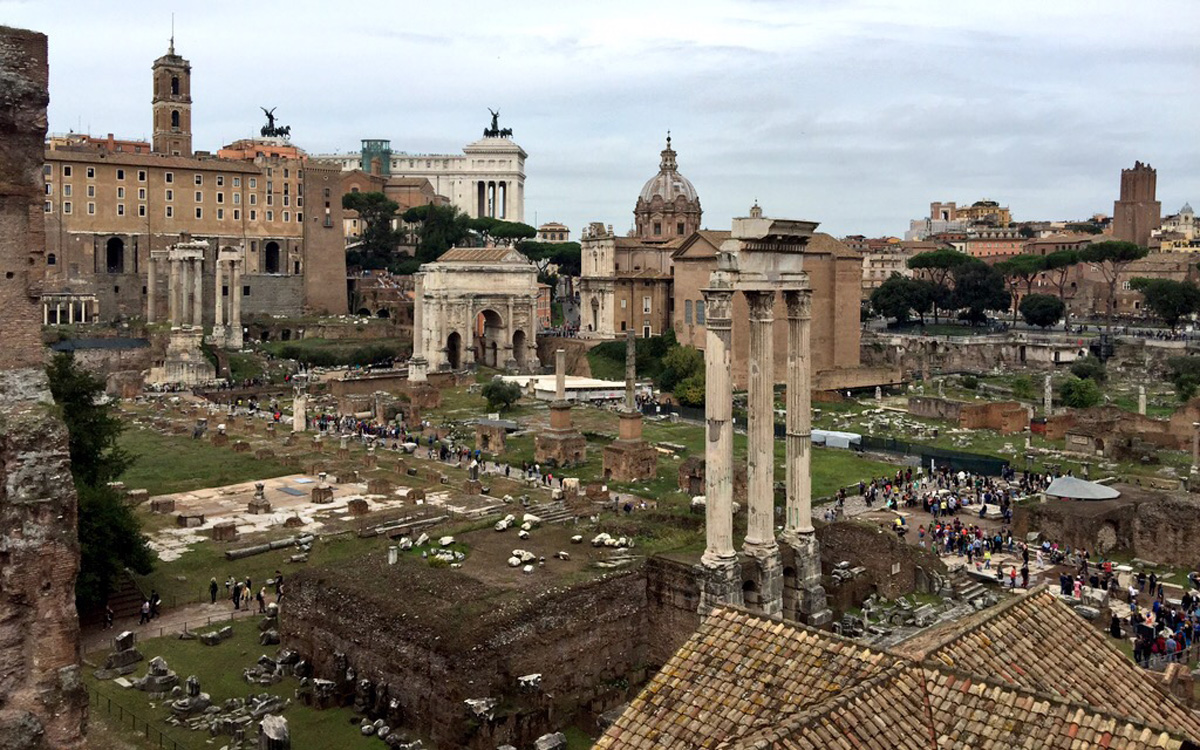 Roman Forum Opens New Walkway for Tourists