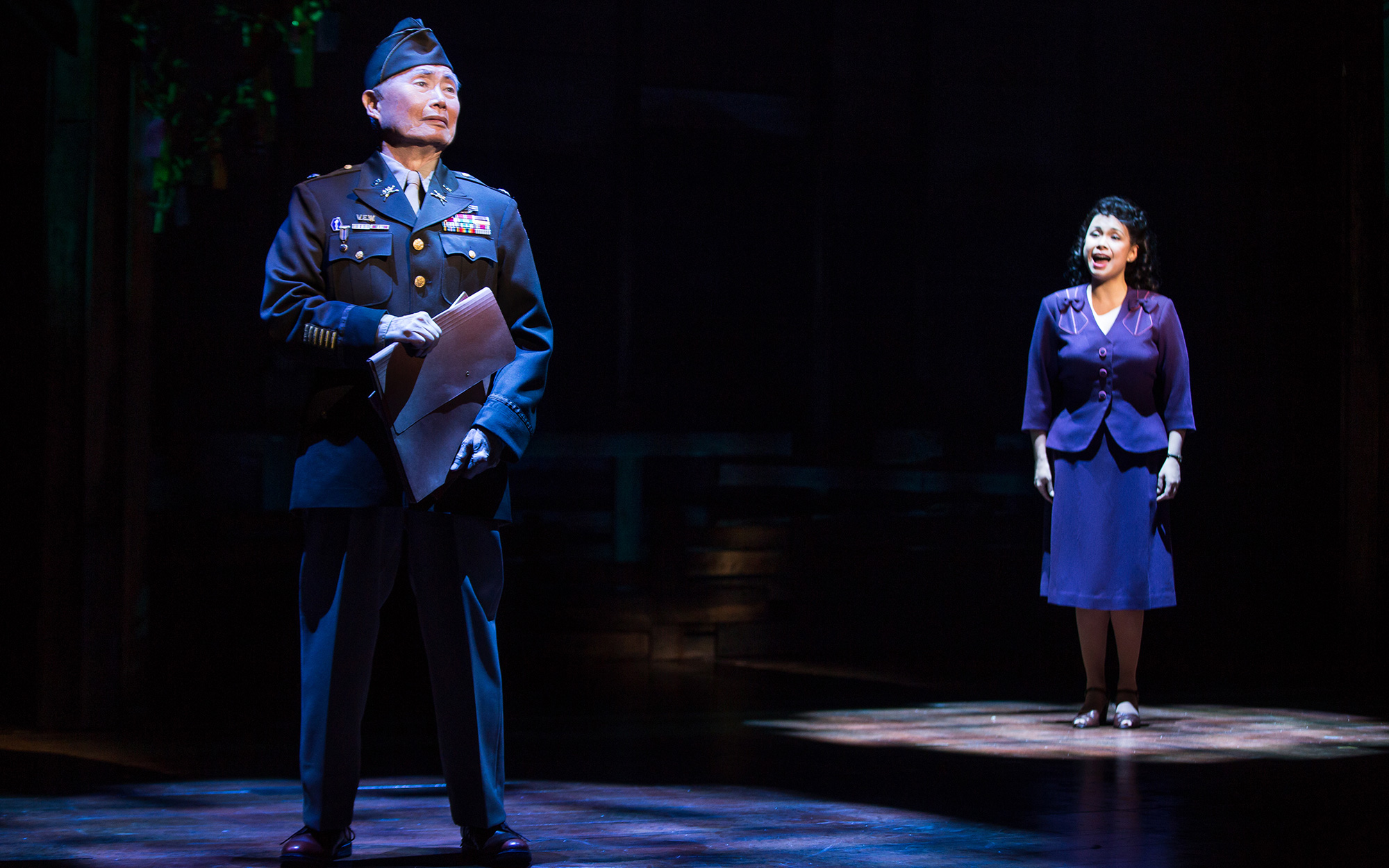"George Takei Stars in ""Allegiance"" Broadway Play"