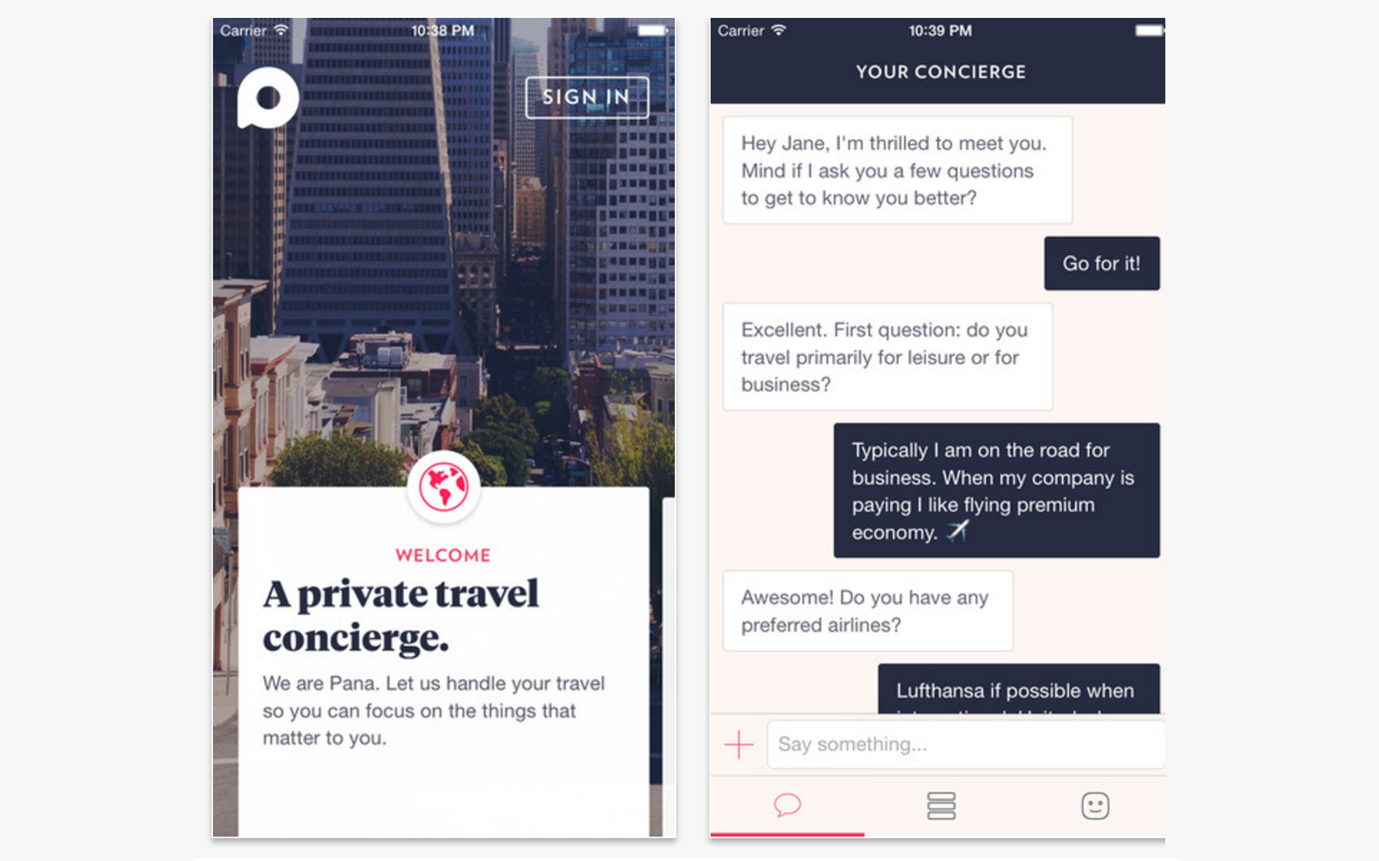 Could Concierge App Pana Replace Travel Agents