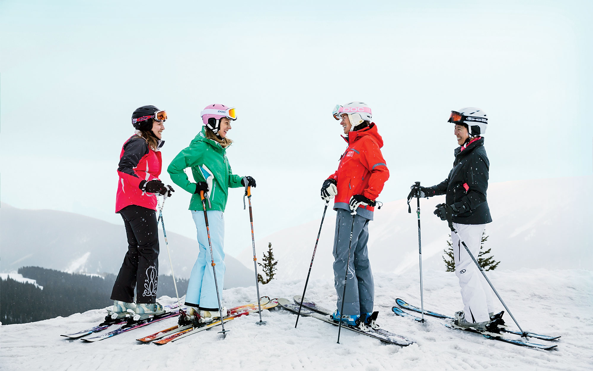 Queens of the Mountain: On the Slopes with Women's Edge