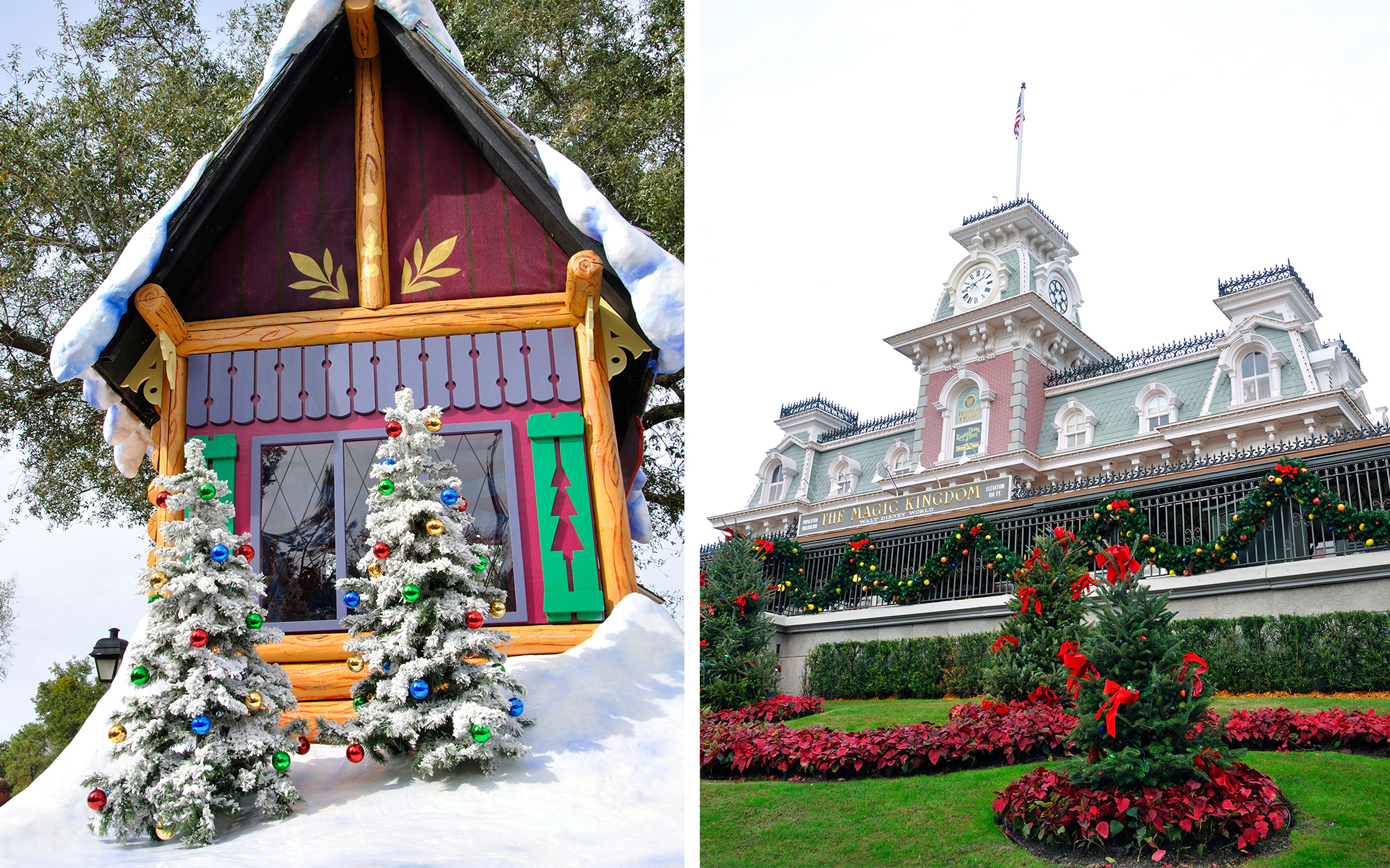 BHCJ72 Christmas at Disneyworld, Orlando, Florida, USA