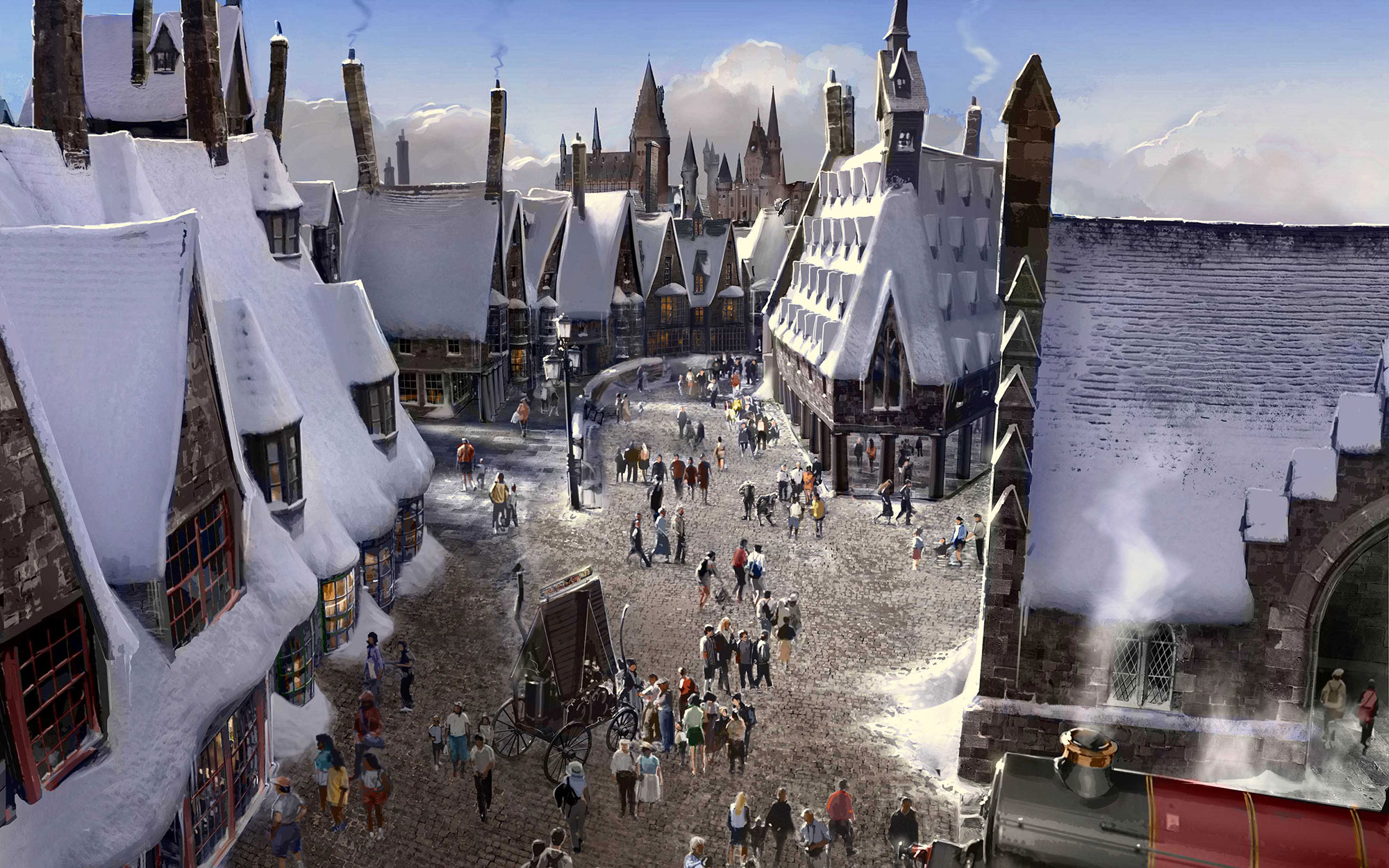 Harry Potter Theme Park is Coming to Hollywood