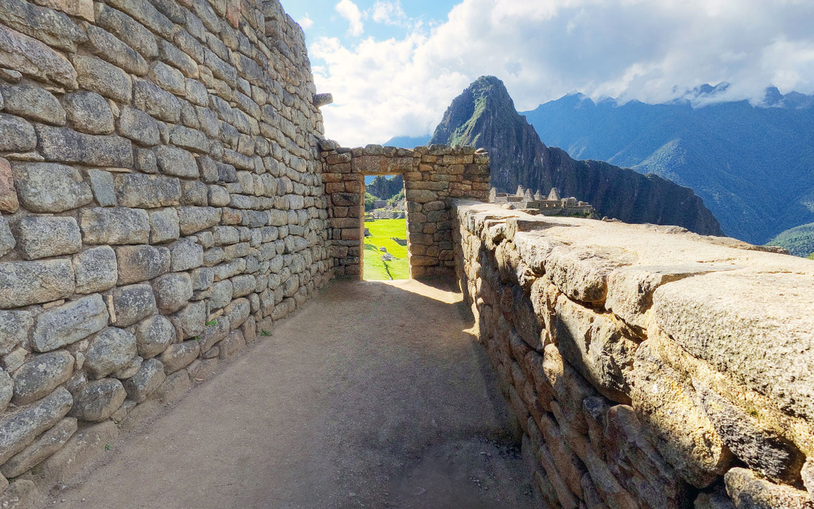 Tour Machu Picchu on Google Street View