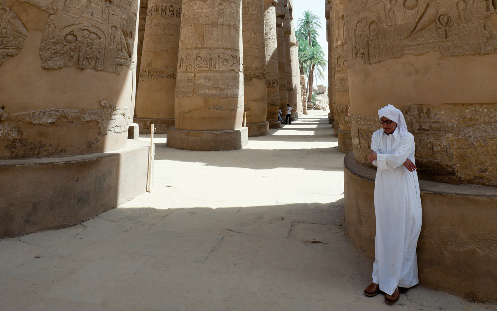 The Karnak Temple in Luxor