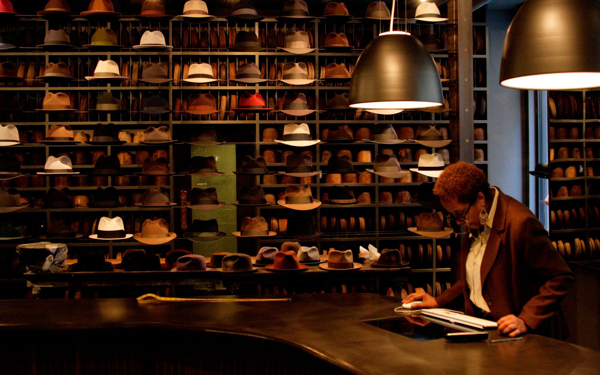 Step Inside Optimo, a Chicago Hat Store