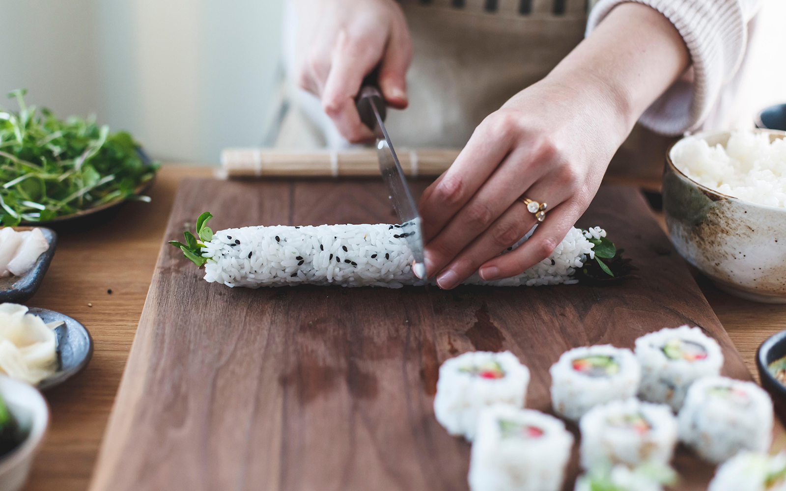 Japanese Chef Opens All-Female Sushi Restaurant to Fight Sexism