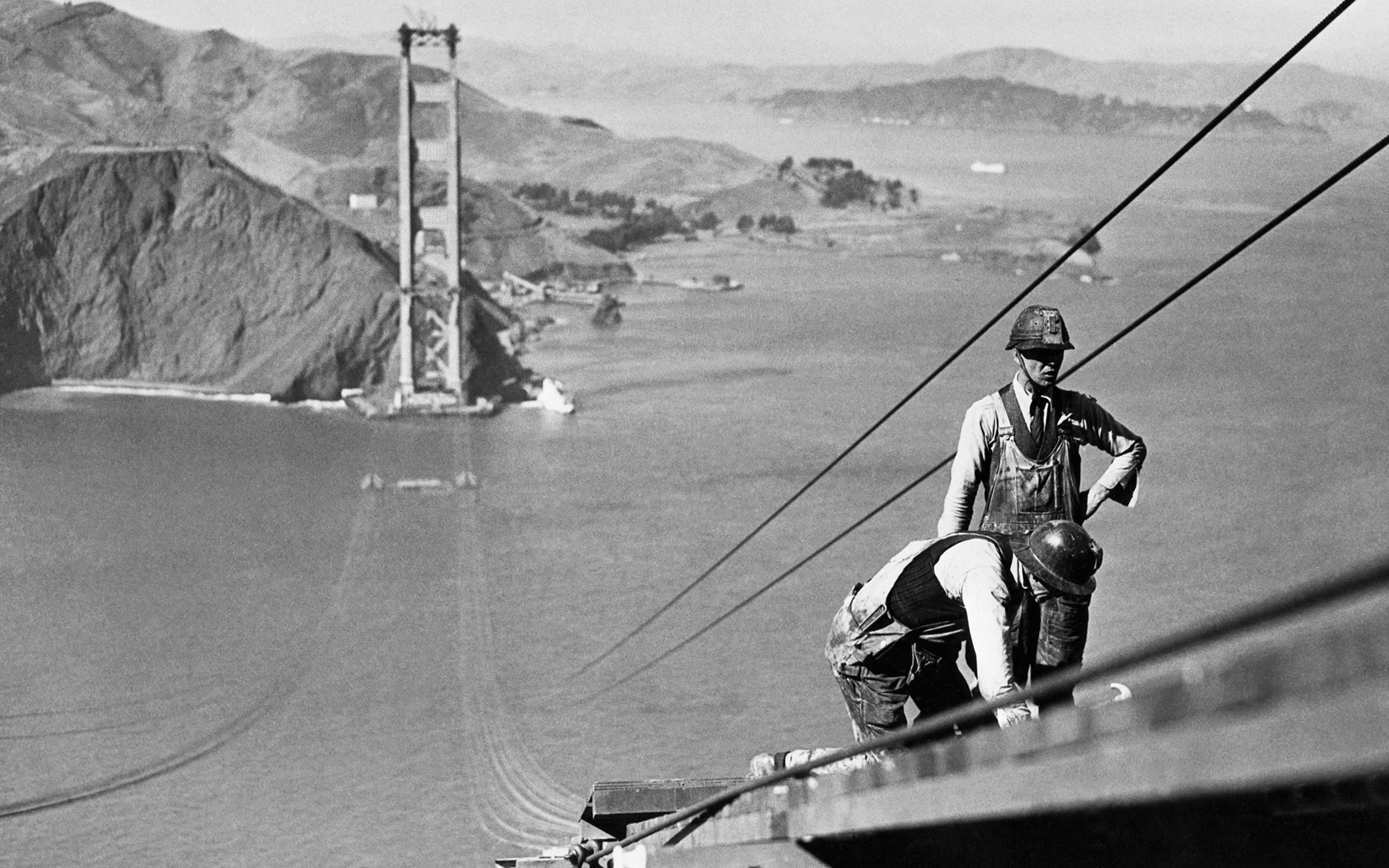 83 Years Ago Today, Construction on the Golden Gate Bridge Began