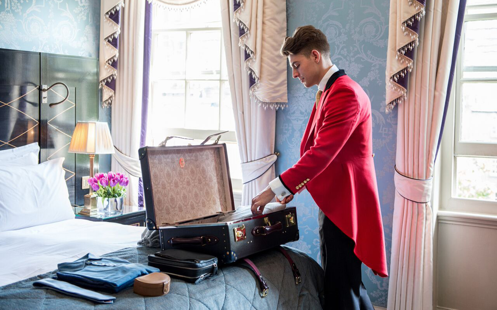 Eight Outlandish Things The Goring Hotel's New Footmen Will Do for Guests