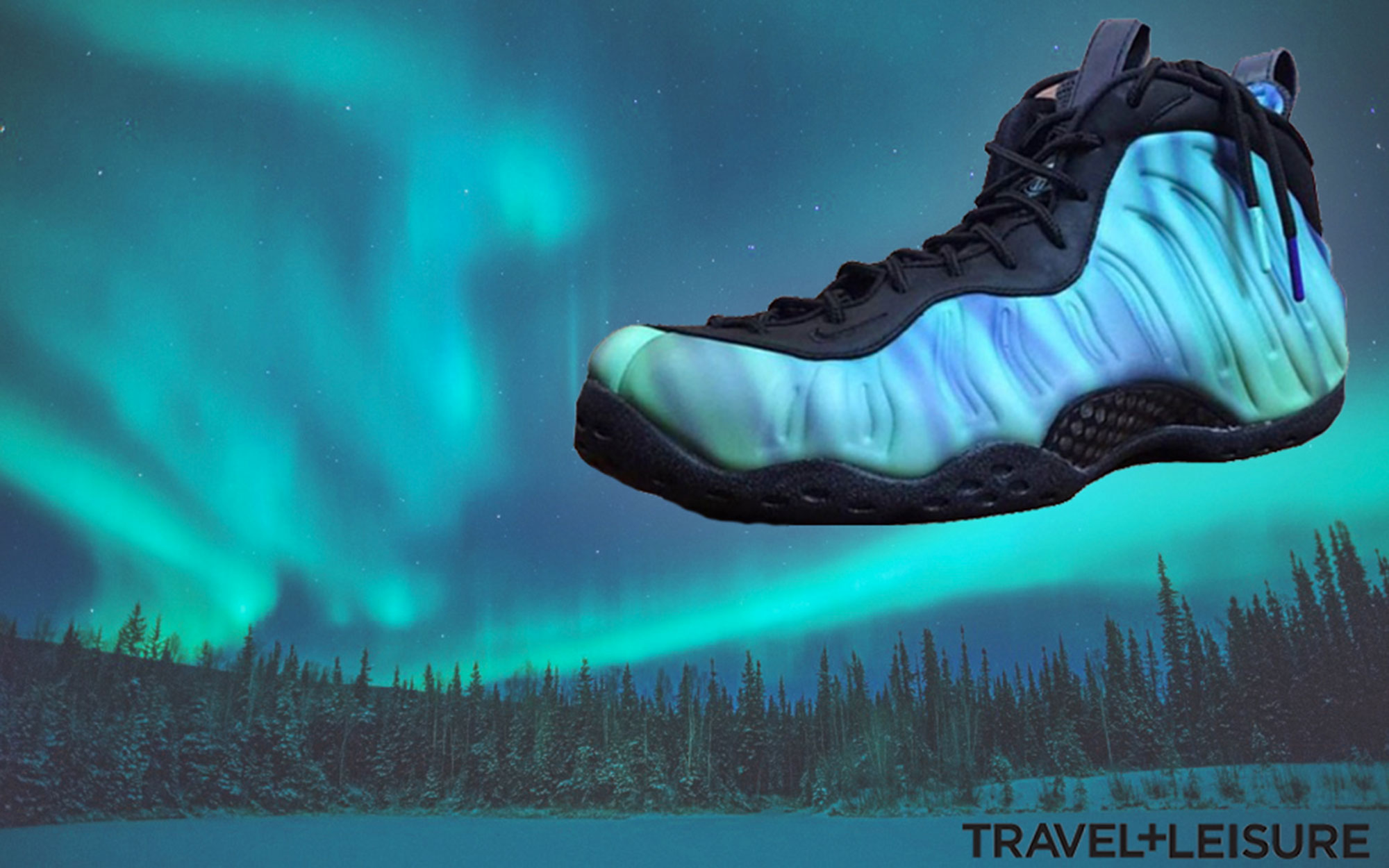Nike's New Shoes Are Supposed to Look Like the Northern Lights