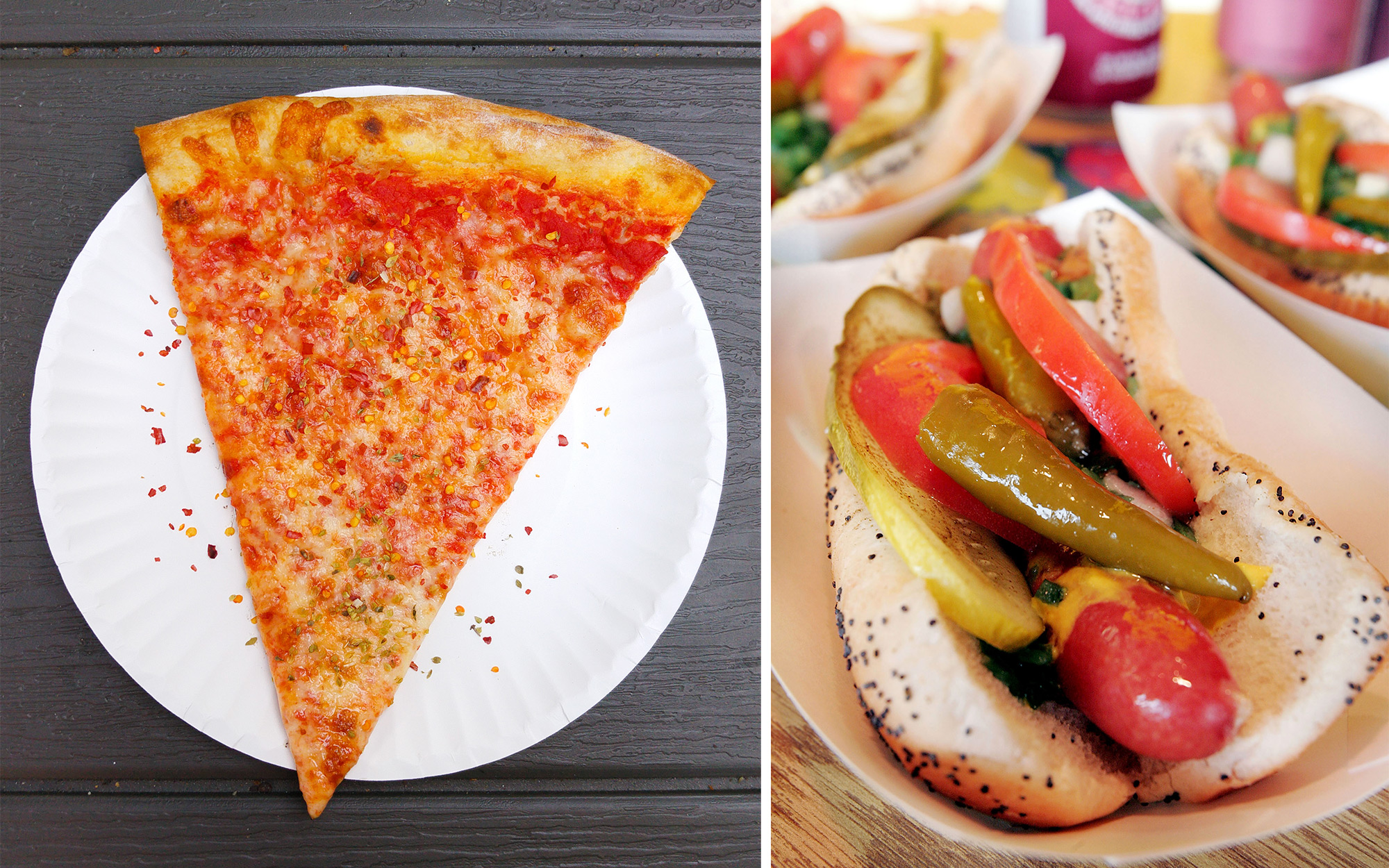 Chicago Food Versus New York Food