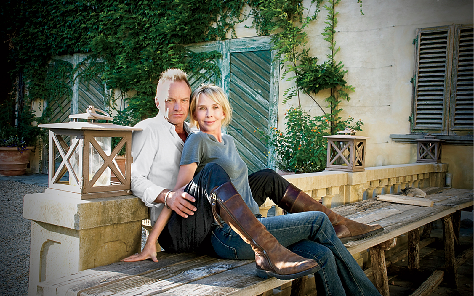 Where Sting and Trudie Styler Love to Travel