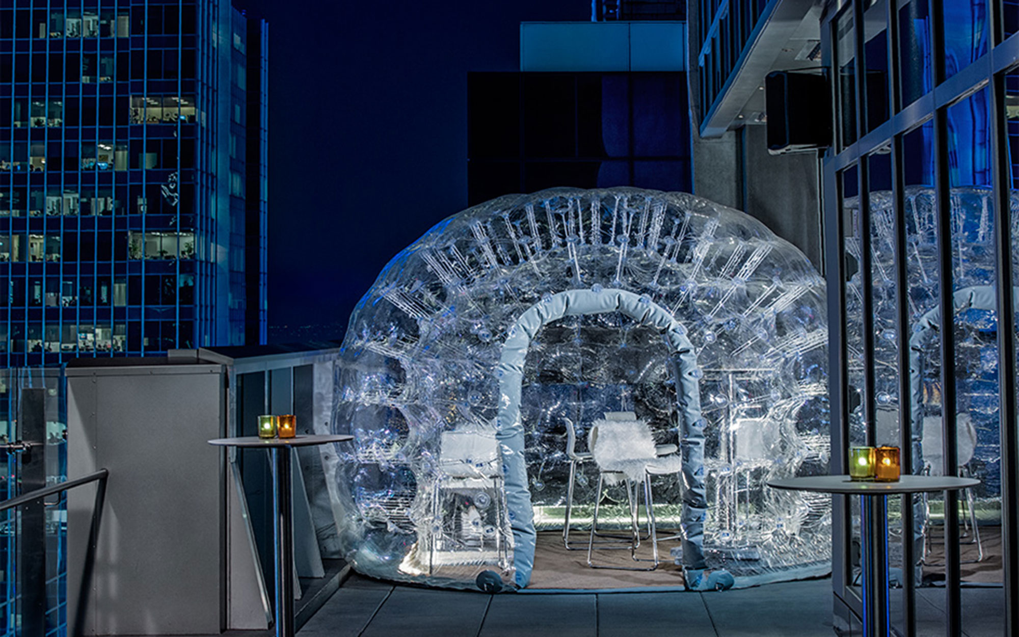 Drink Inside A Bubble At The Highest Rooftop Hotel Bar In