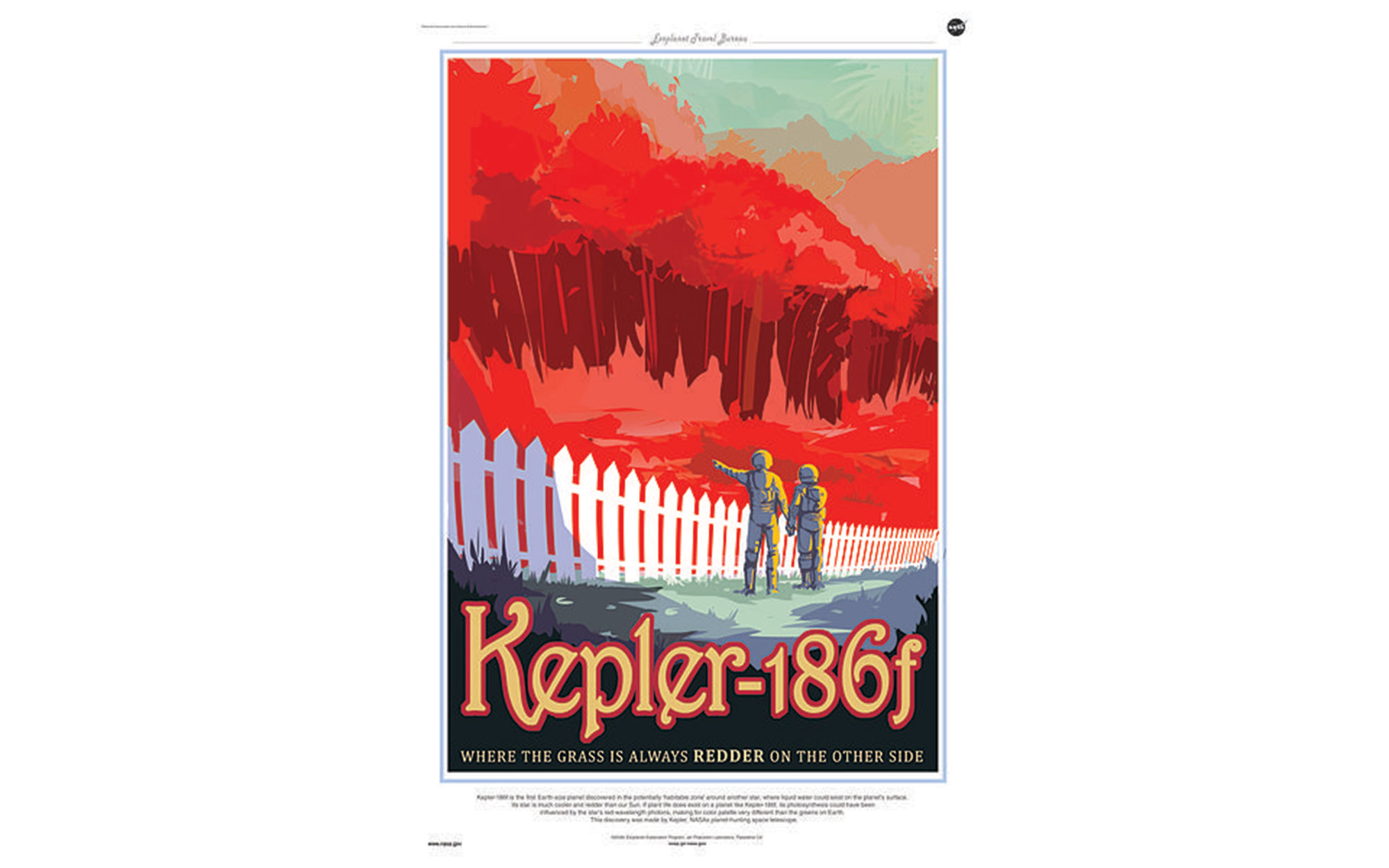 NASA's New Space Travel Posters Are The Vision Of The Future