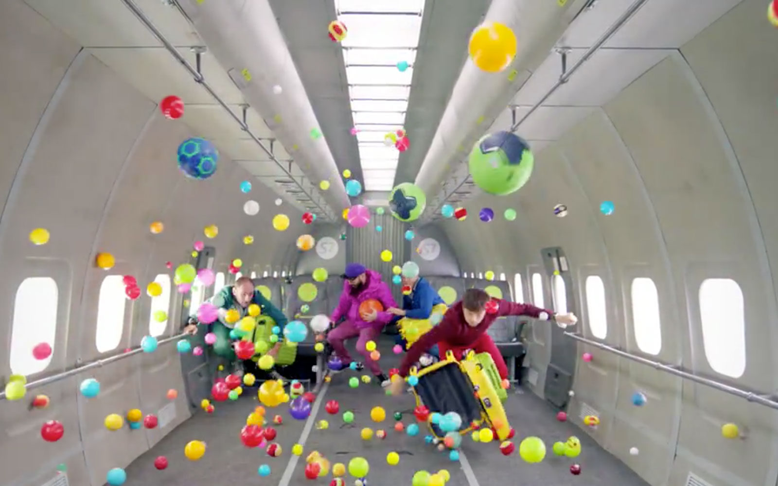 OK Go's New Music Video Features a Zero Gravity Airplane