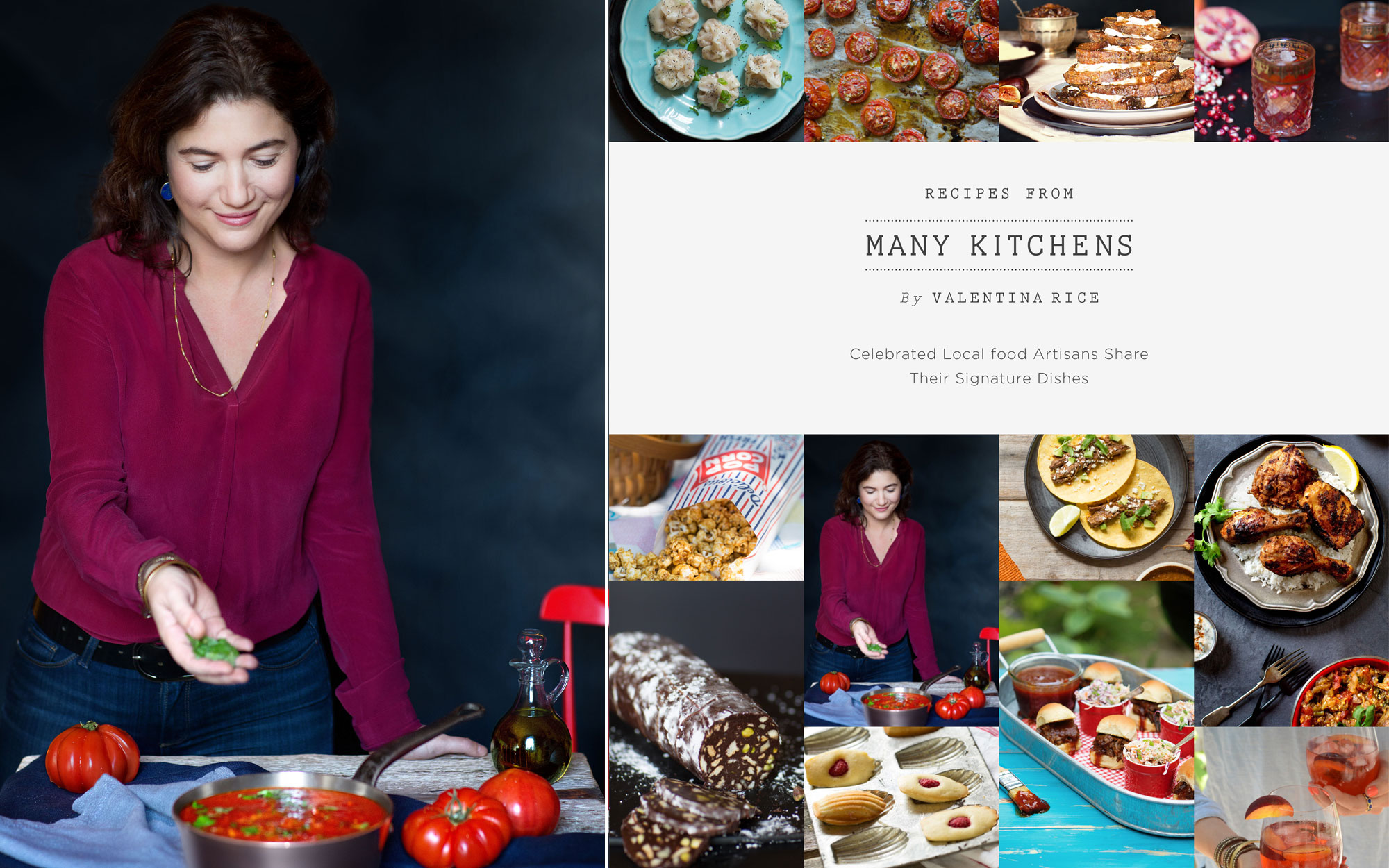 Valentina Rice on Food Destinations and Multicultural Cooking