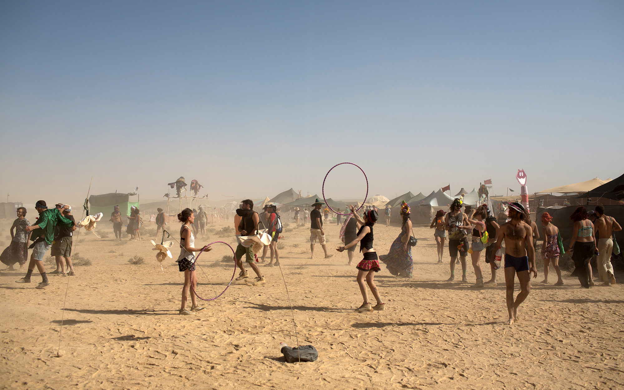 How to Work at Burning Man