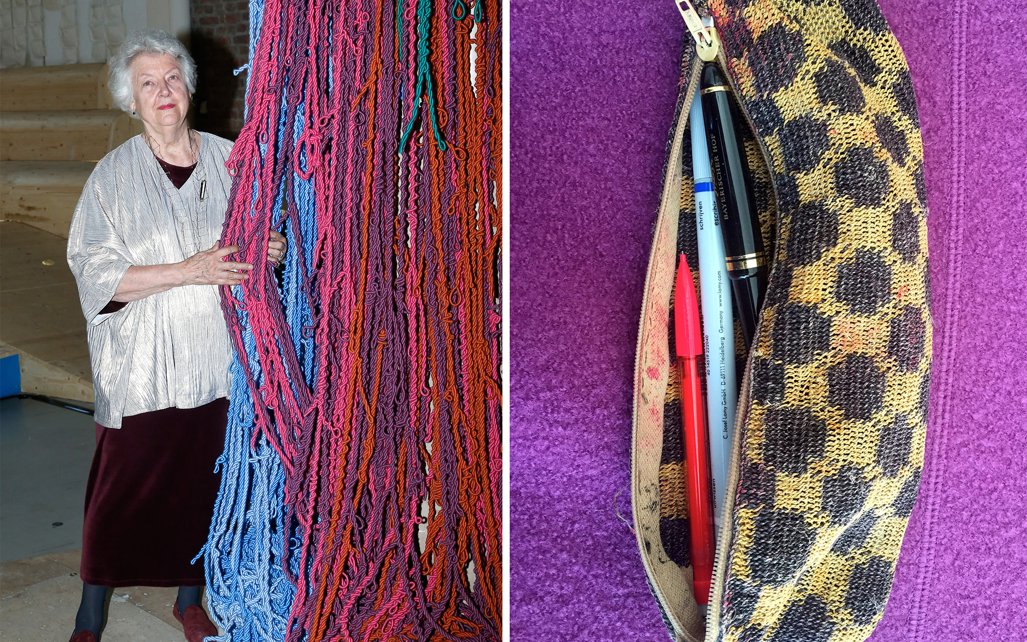 Souvenir Stories: Sheila Hicks' Reed Pouch From Brazil