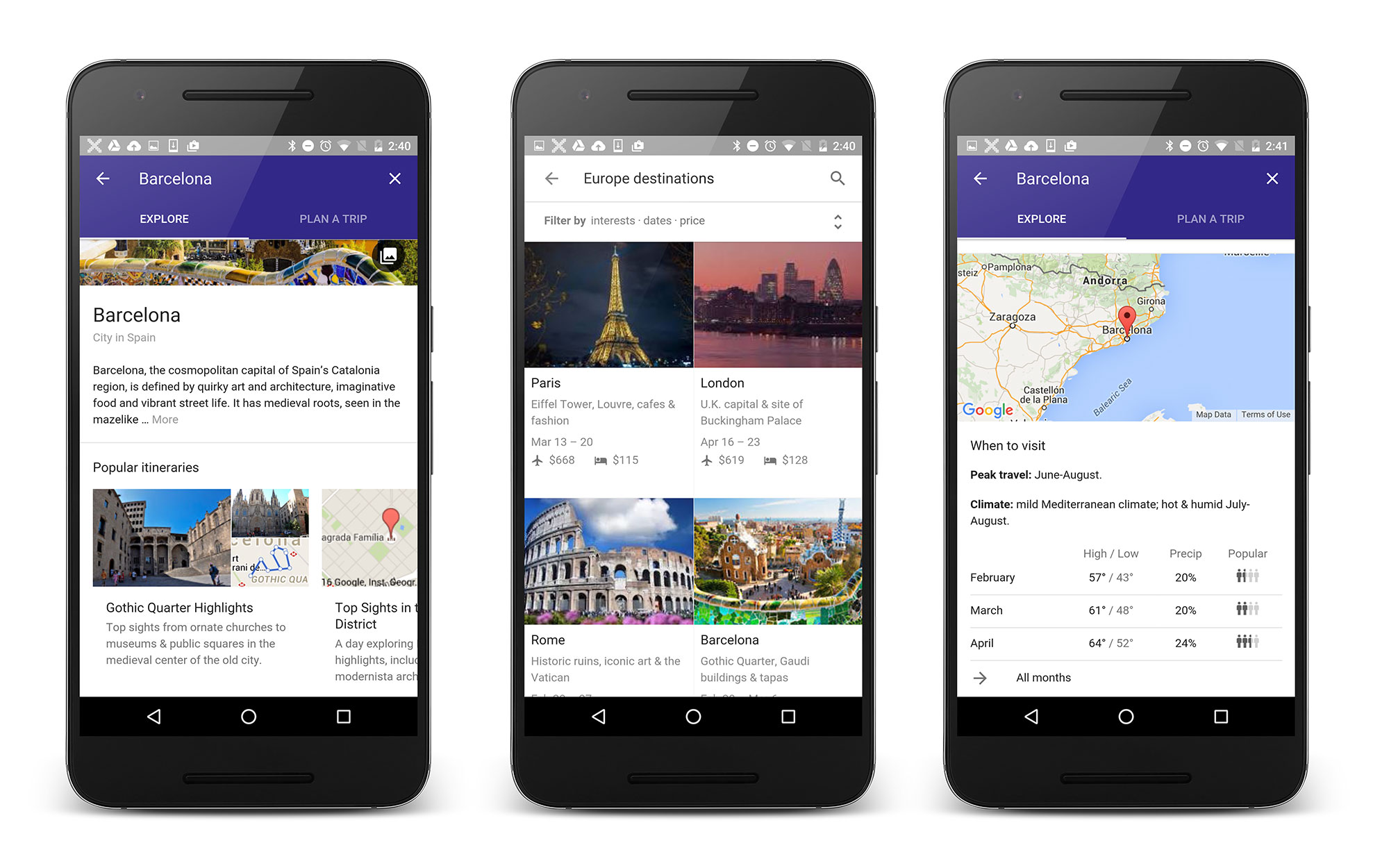 How to Use Destinations on Google  Travel  Leisure