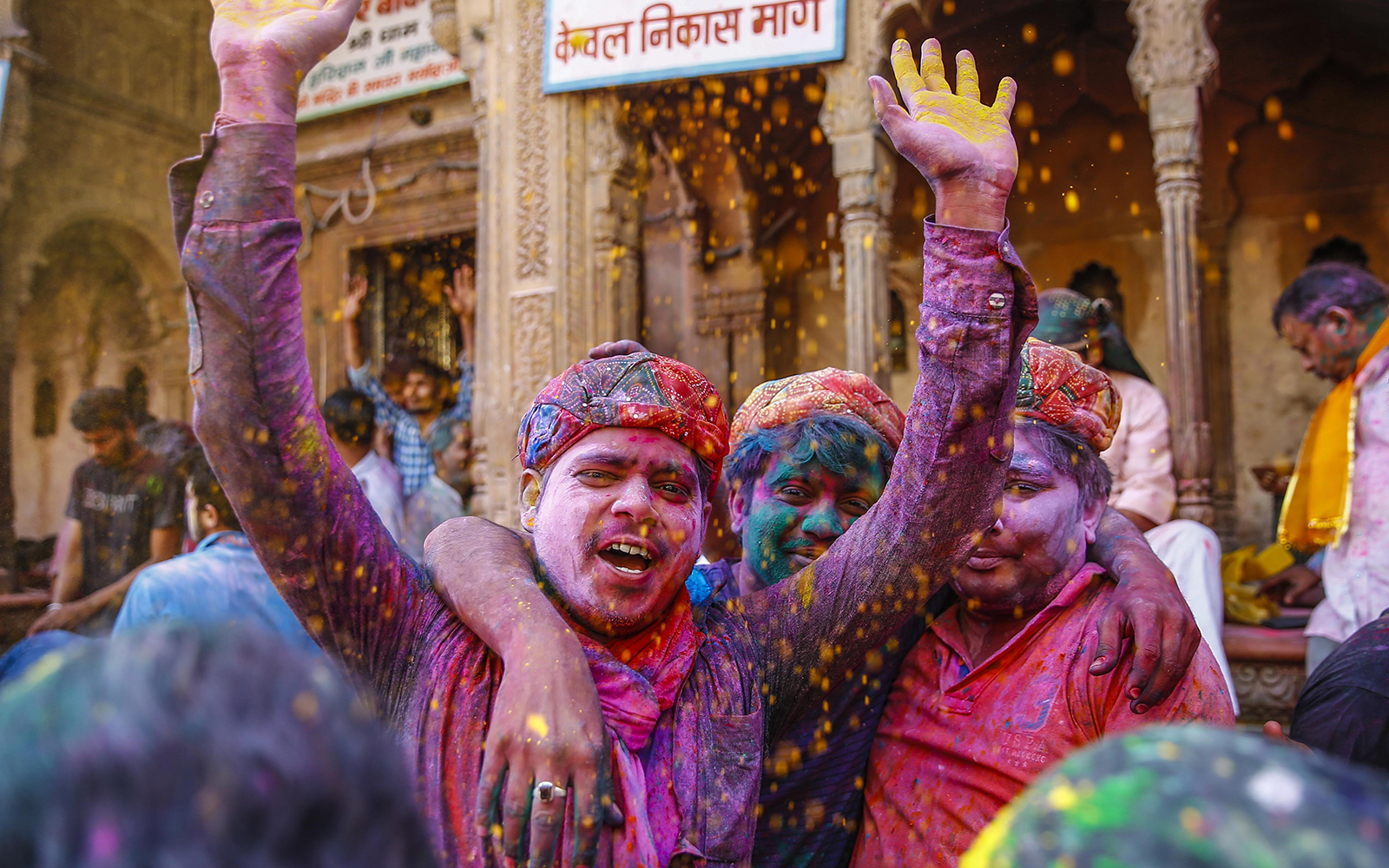 Photos from the 2016 Holi Celebration