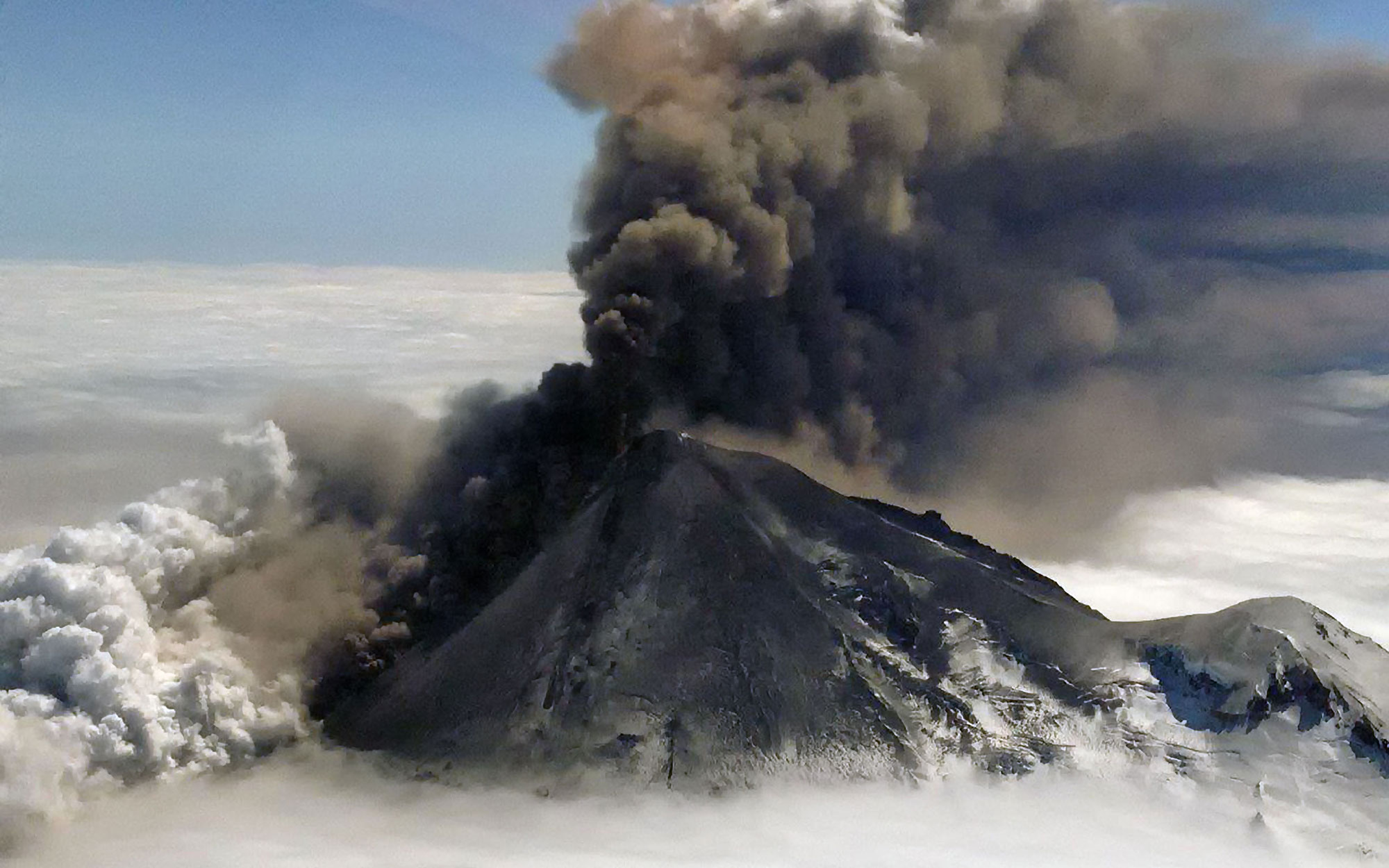 In Photos: Alaska's Mount Pavlof Erupts