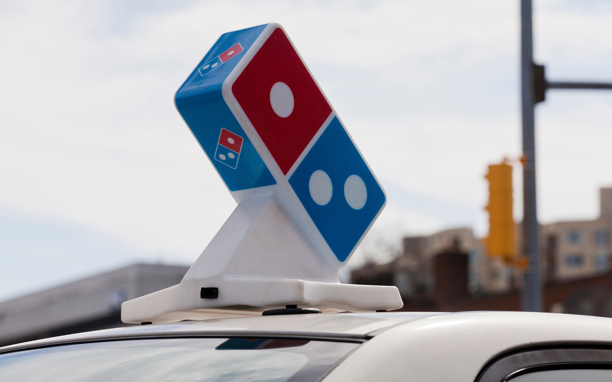 Man Steals a Pizza Delivery Car to Catch a Flight