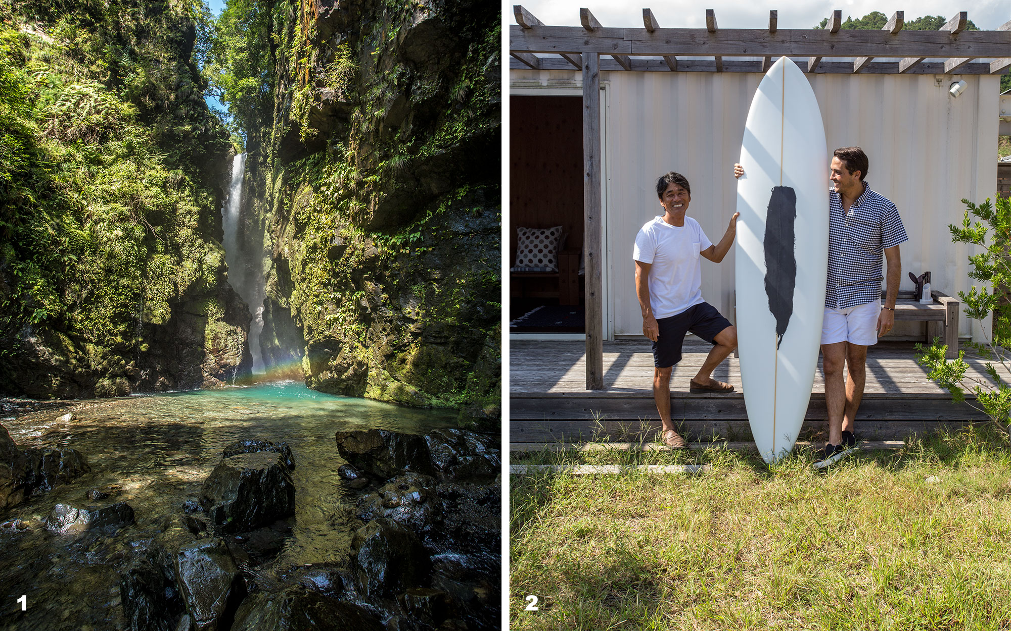 todoroki falls and 303 surfboards founders