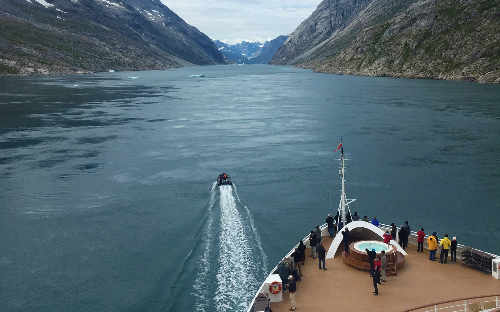 fjords of Prince Christian Sound, Greenland